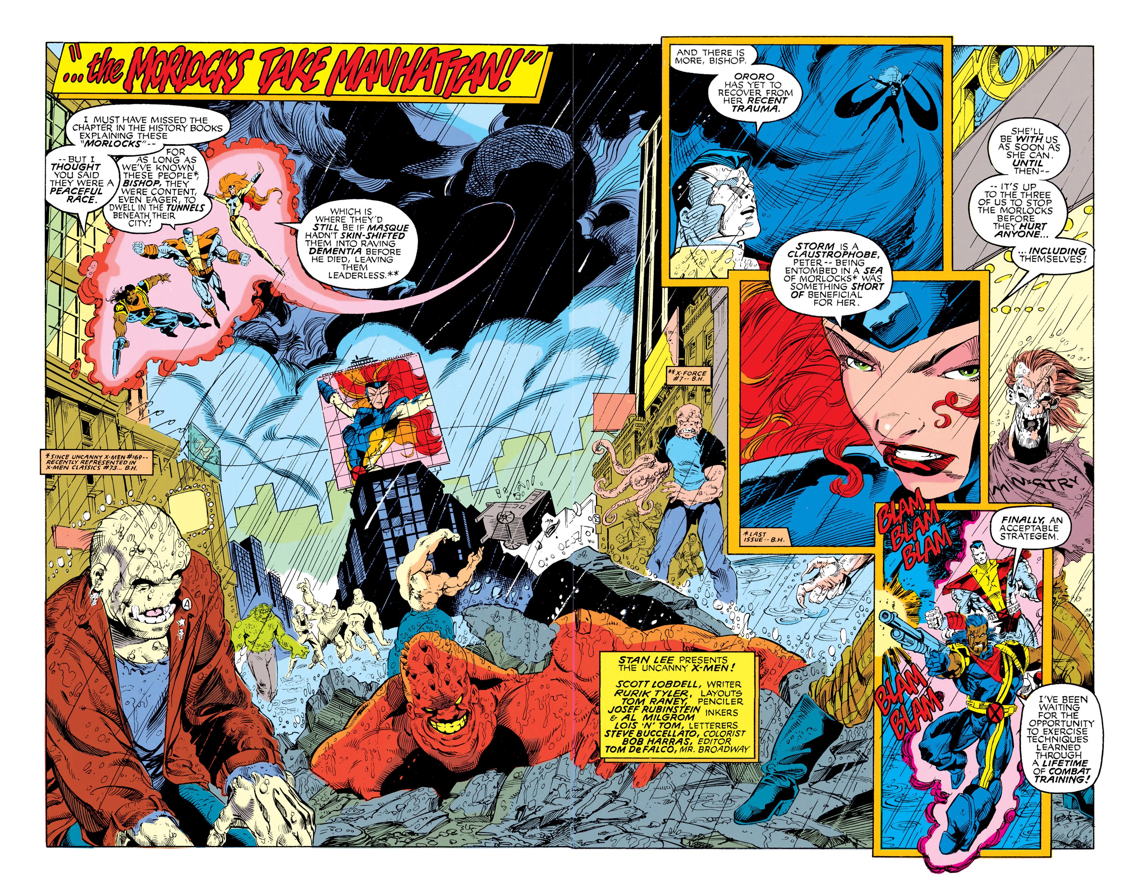 Read online Uncanny X-Men (1963) comic -  Issue #292 - 3