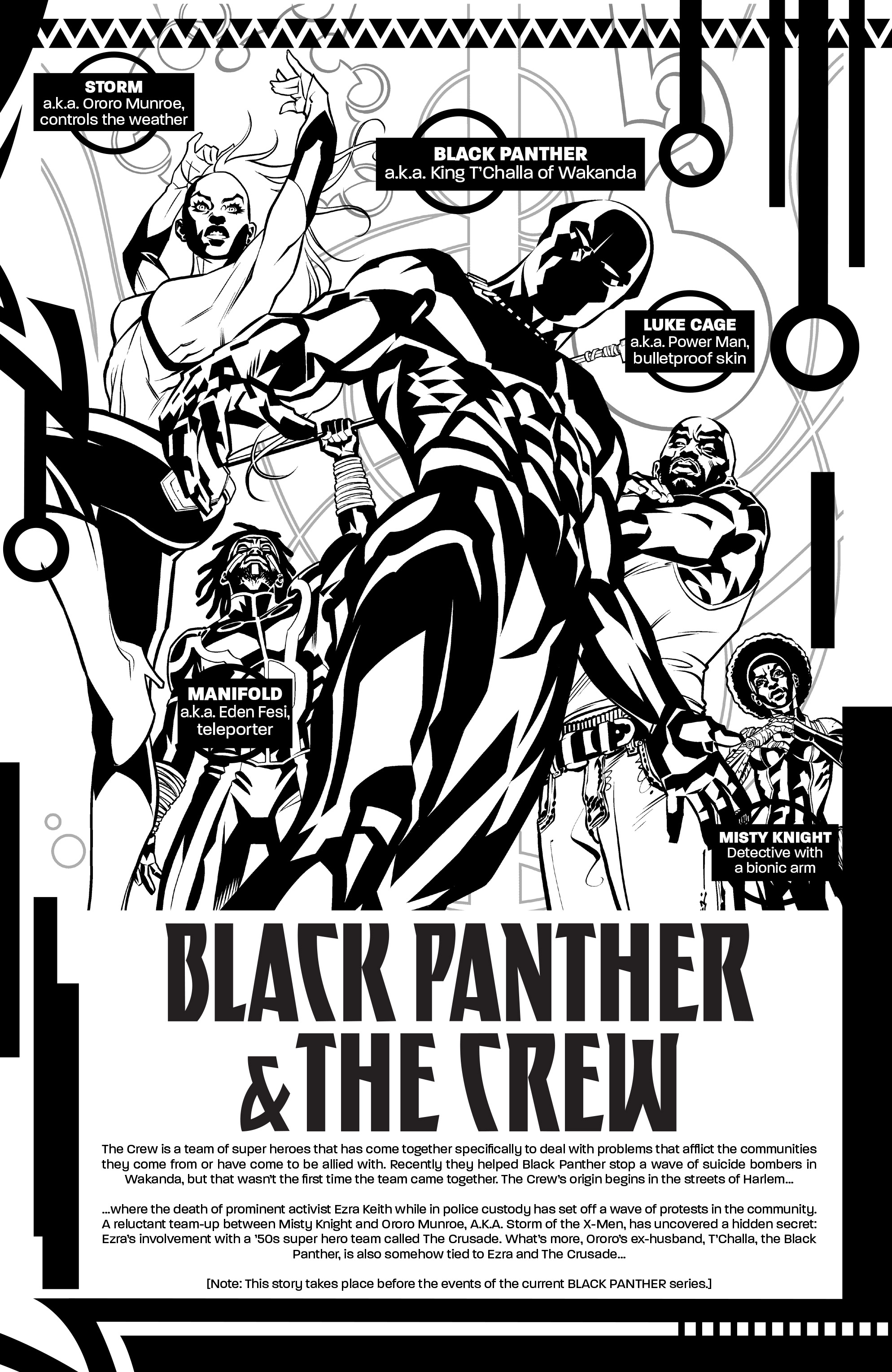 Read online Black Panther and the Crew comic -  Issue #3 - 2