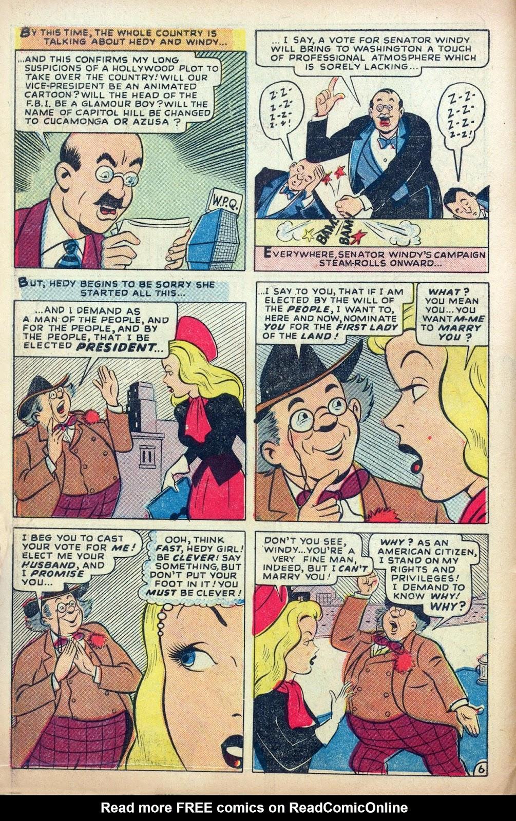 Hedy De Vine Comics issue 31 - Page 8