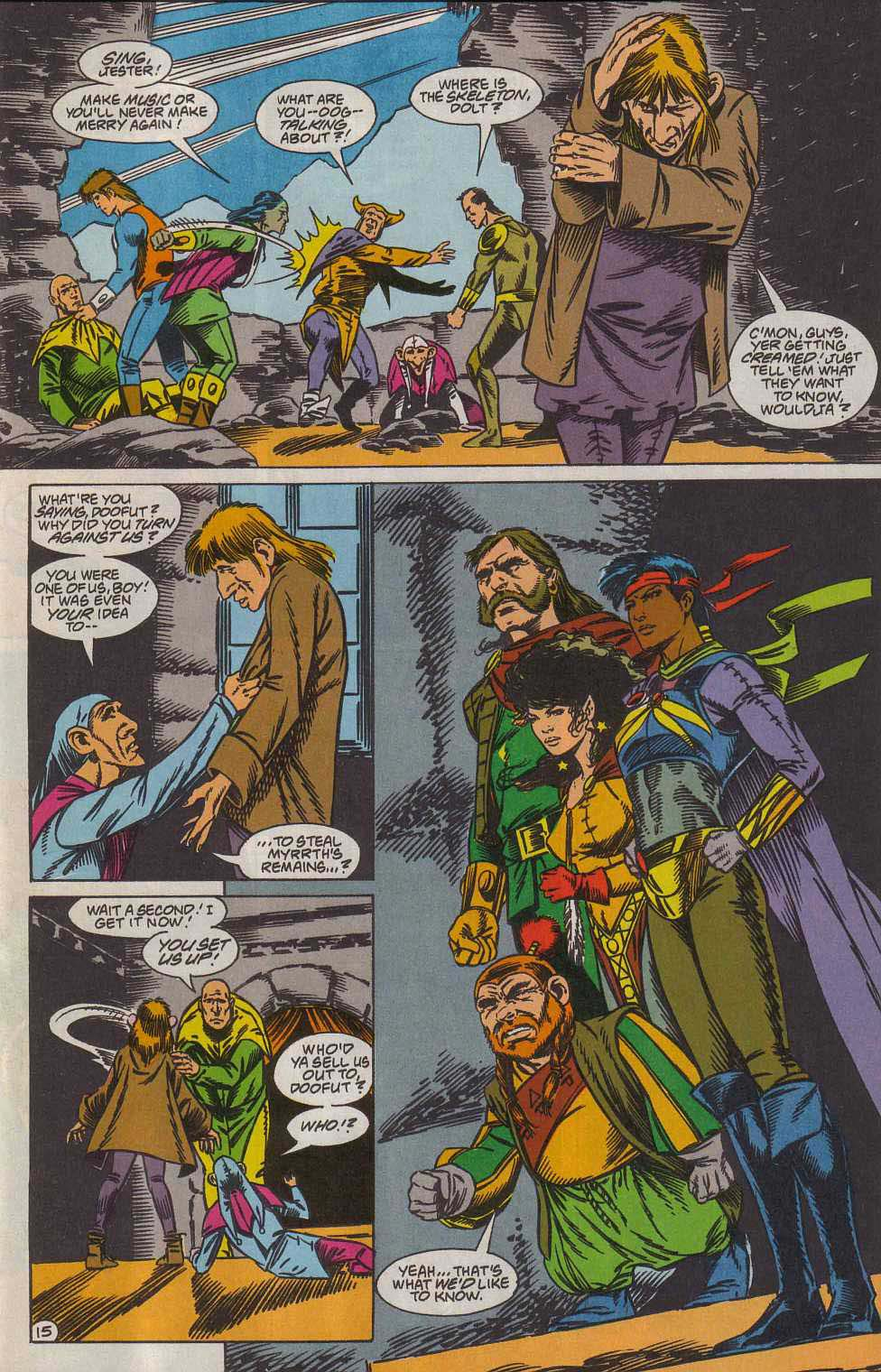 Read online Advanced Dungeons & Dragons comic -  Issue #7 - 16