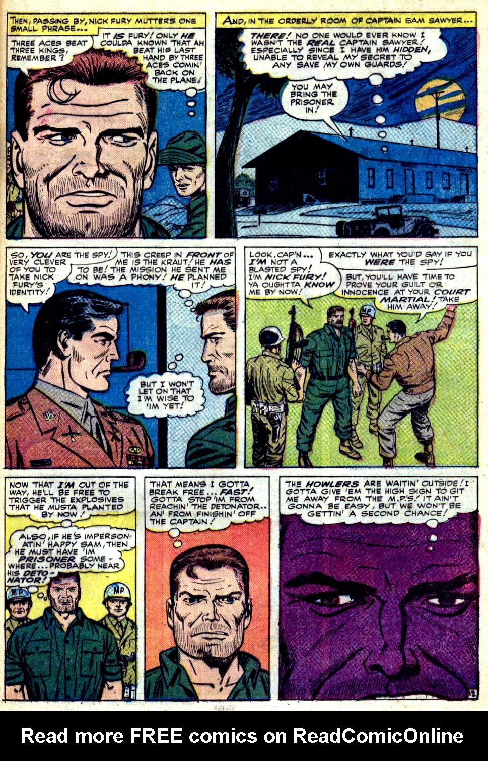 Read online Sgt. Fury comic -  Issue #25 - 17