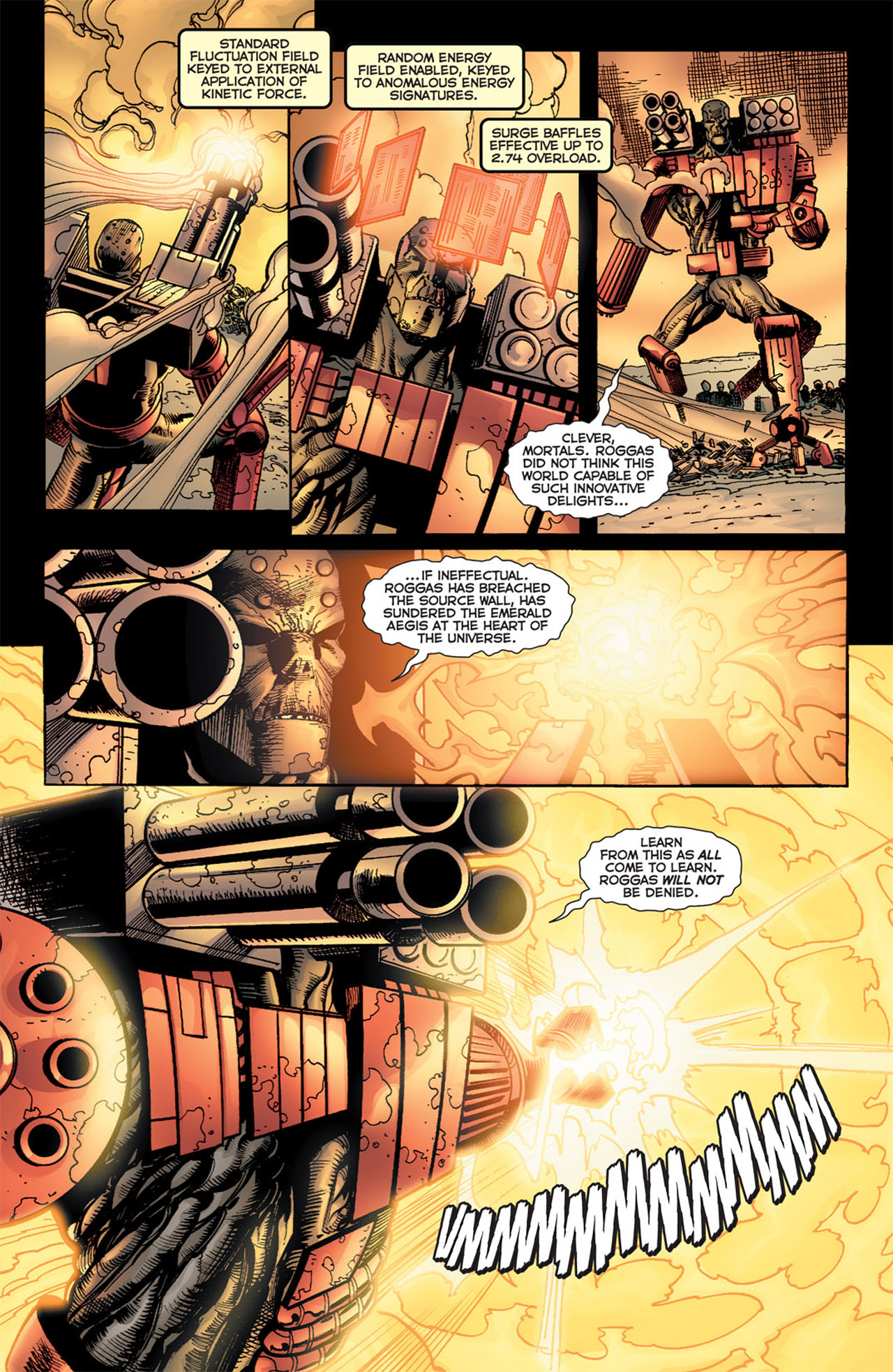 Read online 52 Aftermath: The Four Horsemen comic -  Issue #5 - 19