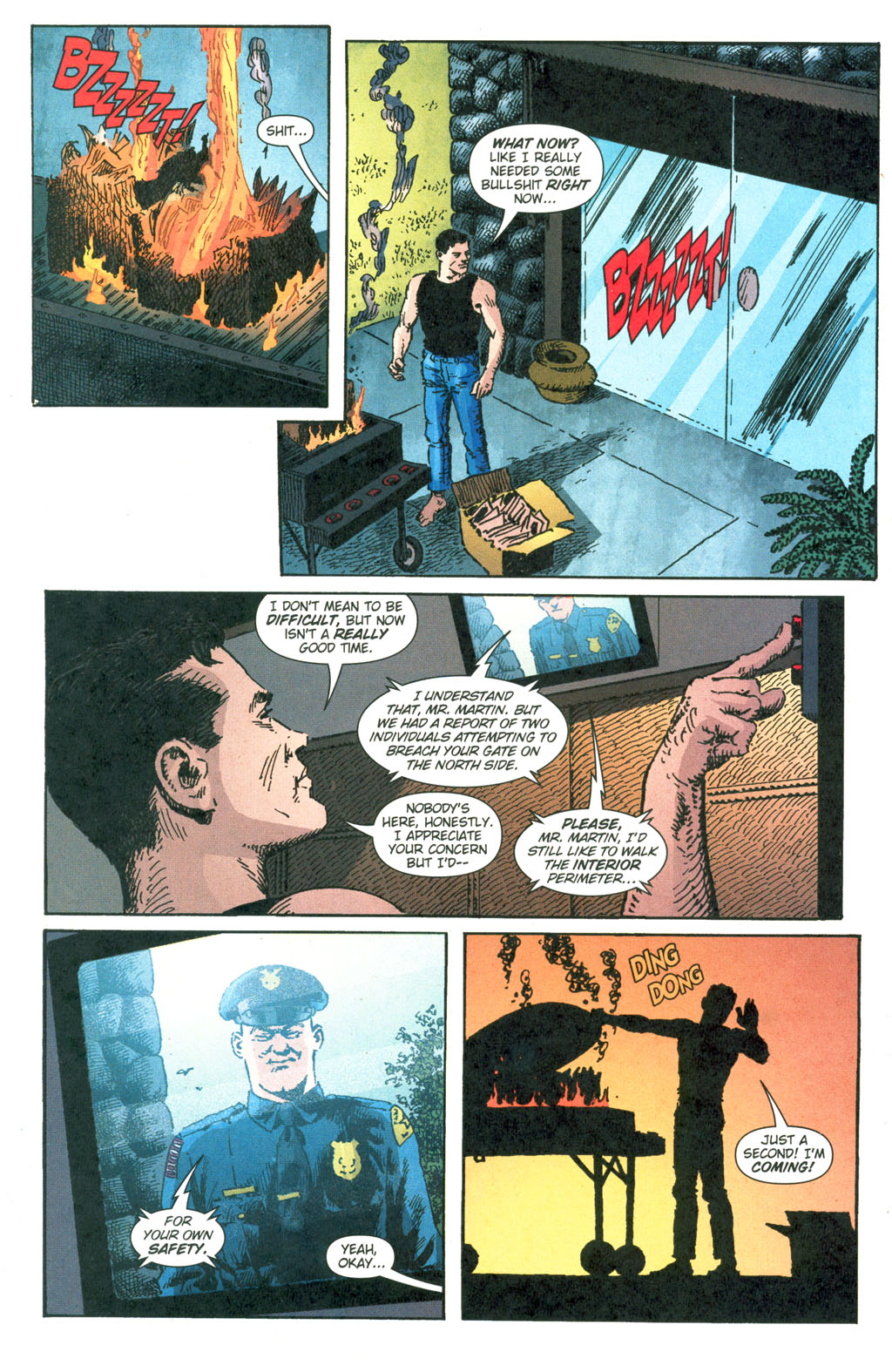 Read online Caper comic -  Issue #7 - 20