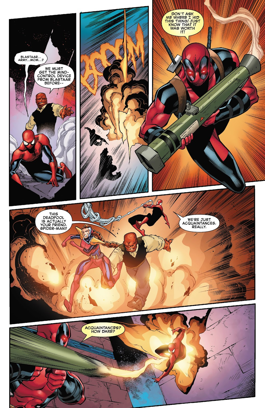 Read online Spider-Man/Deadpool comic -  Issue #45 - 8
