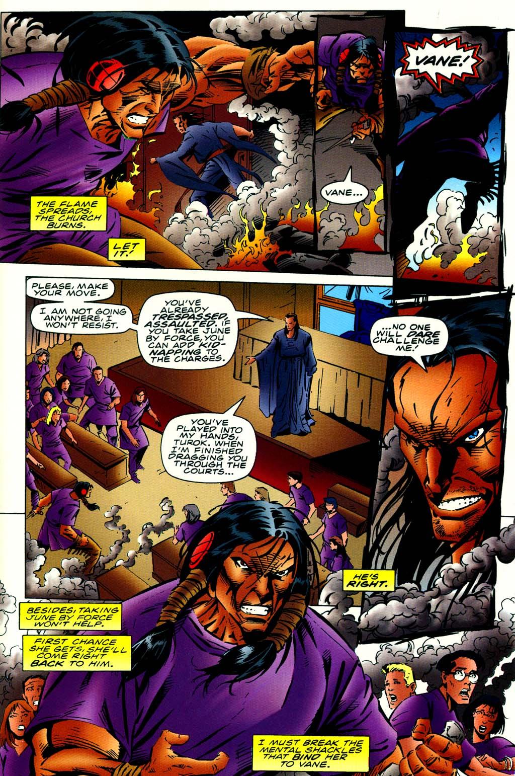 Read online Turok, Dinosaur Hunter (1993) comic -  Issue #42 - 16
