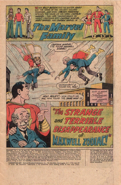 Read online Shazam! (1973) comic -  Issue #20 - 3