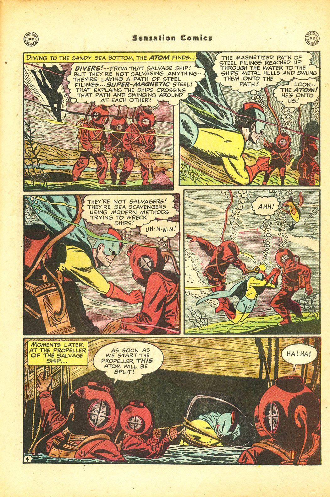 Read online Sensation (Mystery) Comics comic -  Issue #86 - 39