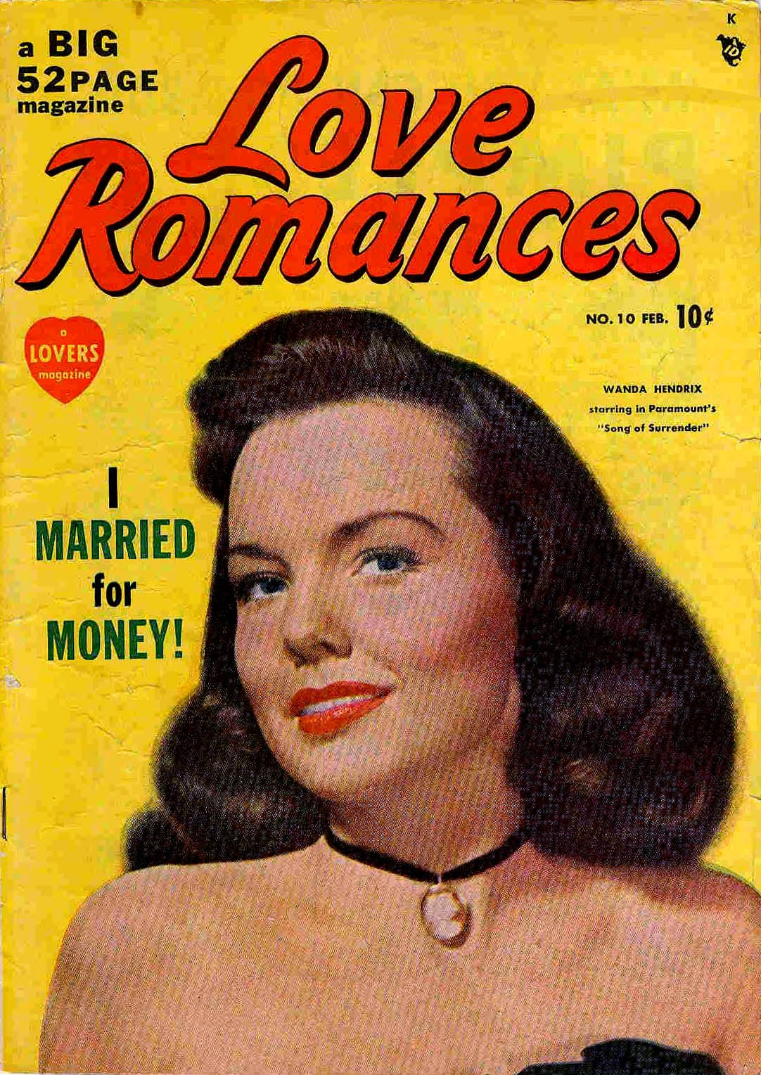 Love Romances (1949) issue 10 - Page 1