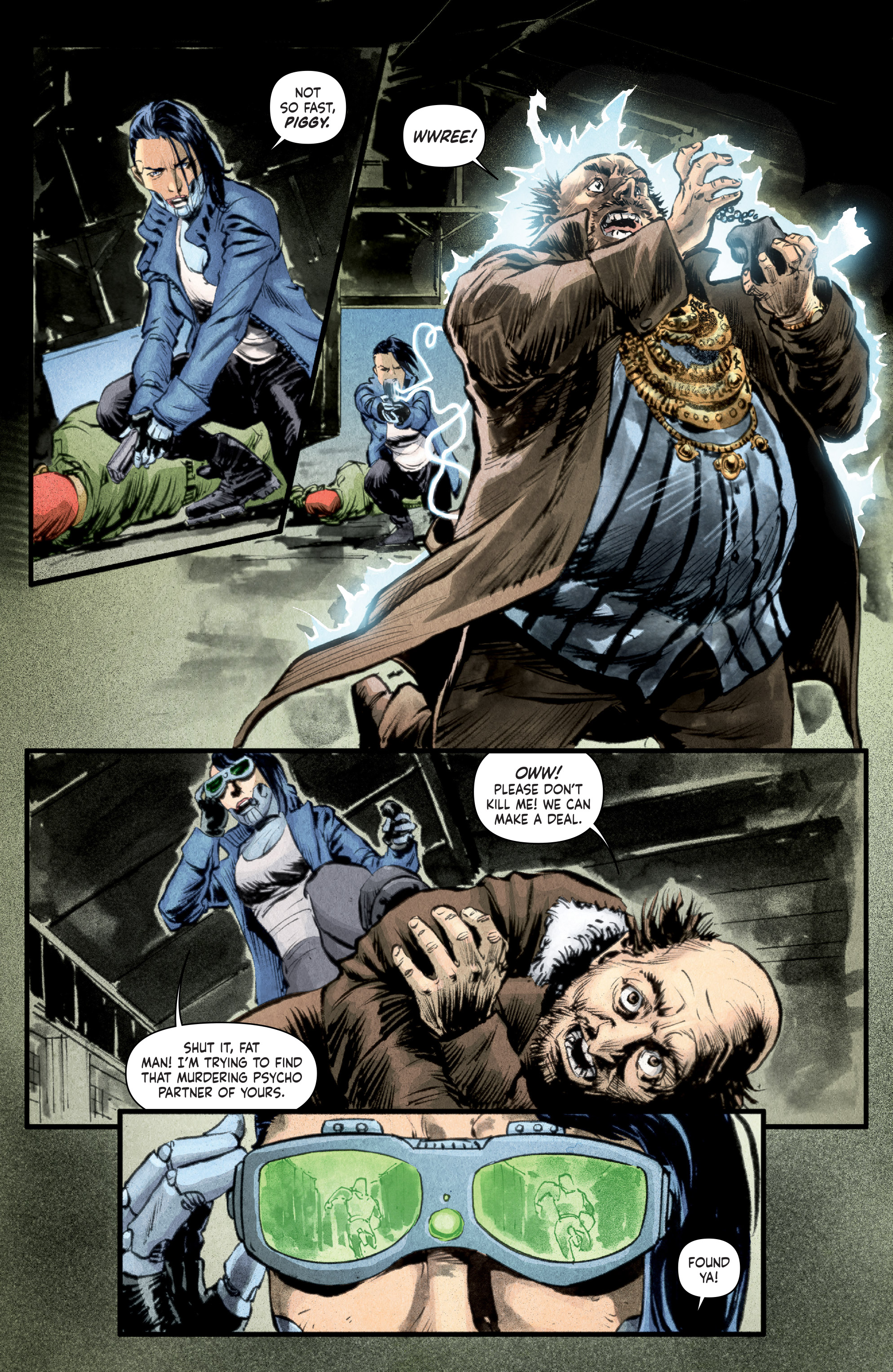Read online Stained comic -  Issue #1 - 14