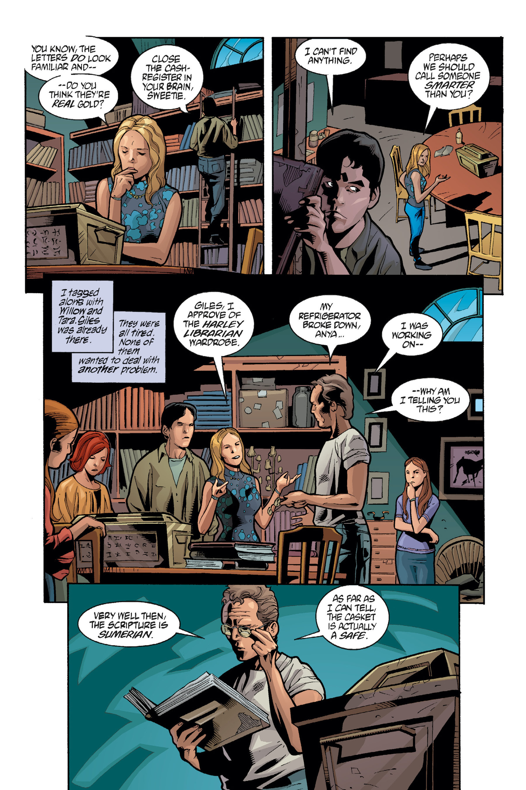 Read online Buffy the Vampire Slayer: Omnibus comic -  Issue # TPB 7 - 133