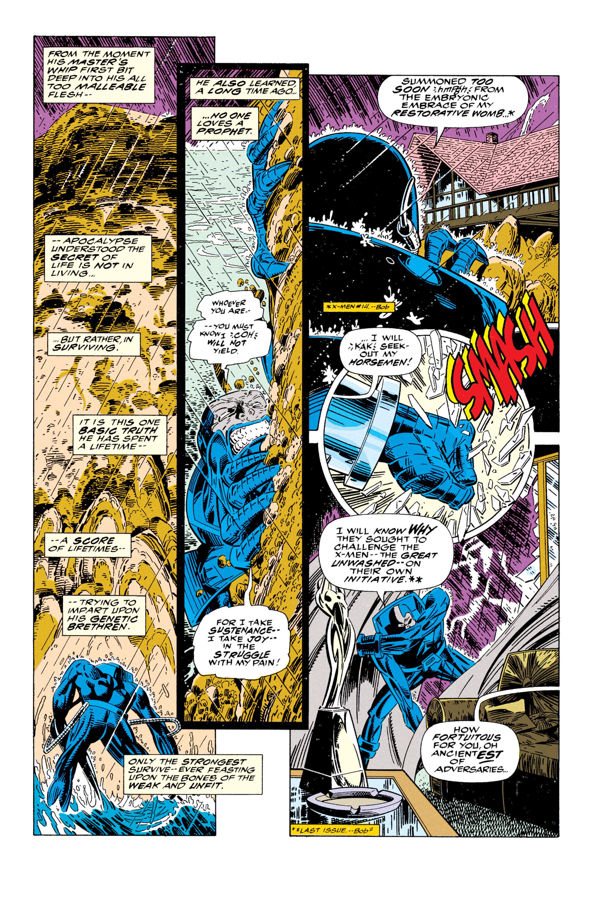 Read online Uncanny X-Men (1963) comic -  Issue #295 - 3