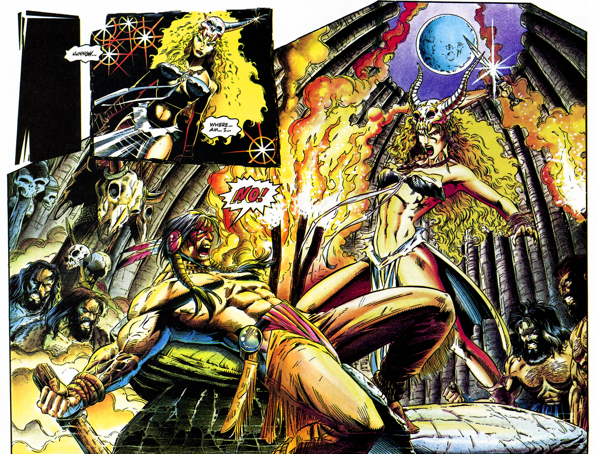 Read online Turok, Dinosaur Hunter (1993) comic -  Issue #35 - 12
