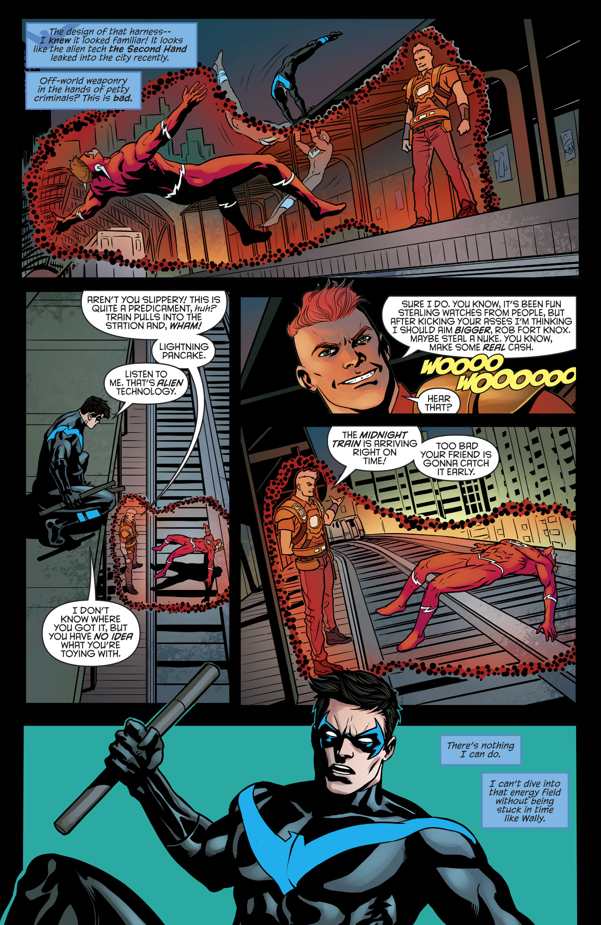 Read online Nightwing (2016) comic -  Issue #21 - 17