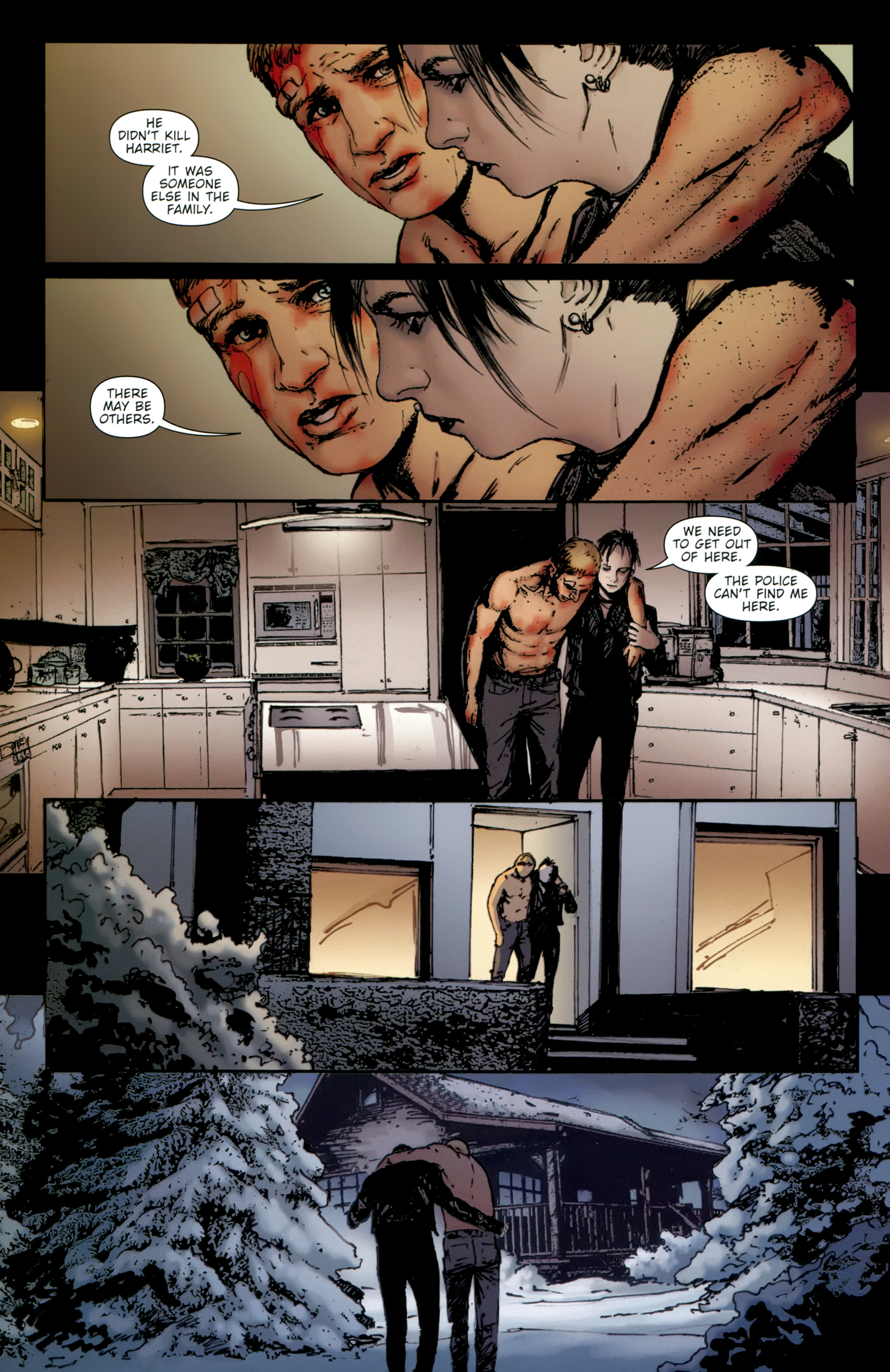Read online The Girl With the Dragon Tattoo comic -  Issue # TPB 2 - 110