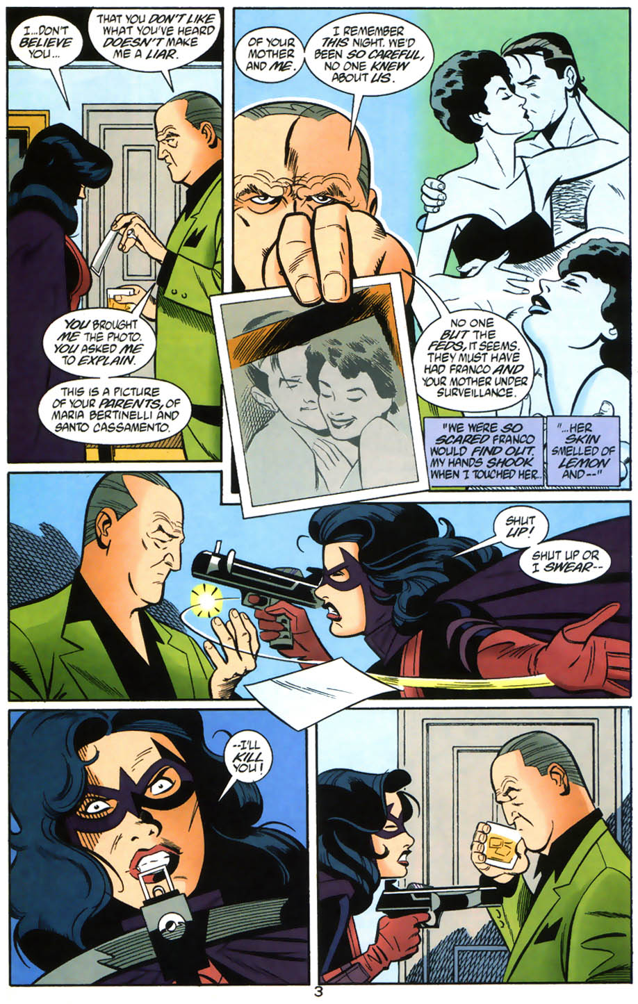 Read online Batman/Huntress: Cry for Blood comic -  Issue #6 - 4