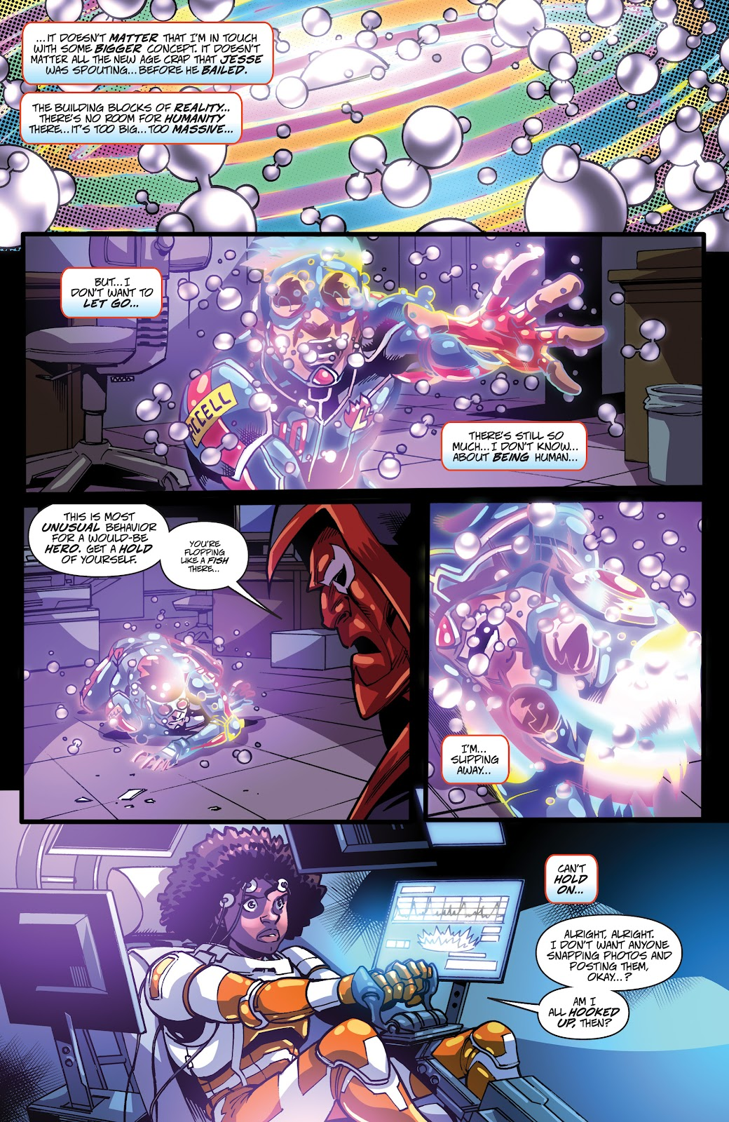 Read online Accell comic -  Issue #19 - 13