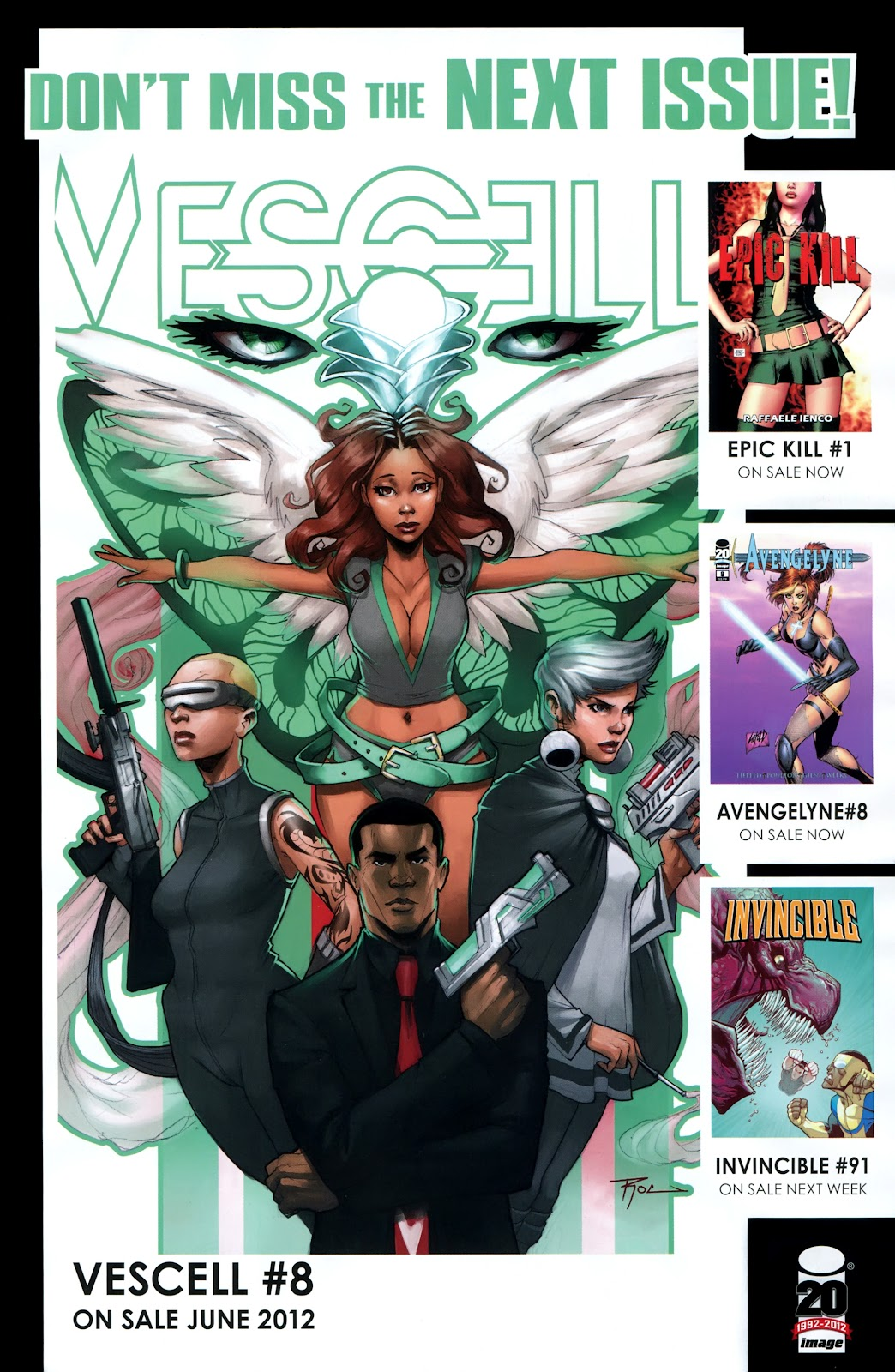 Read online Vescell comic -  Issue #7 - 23