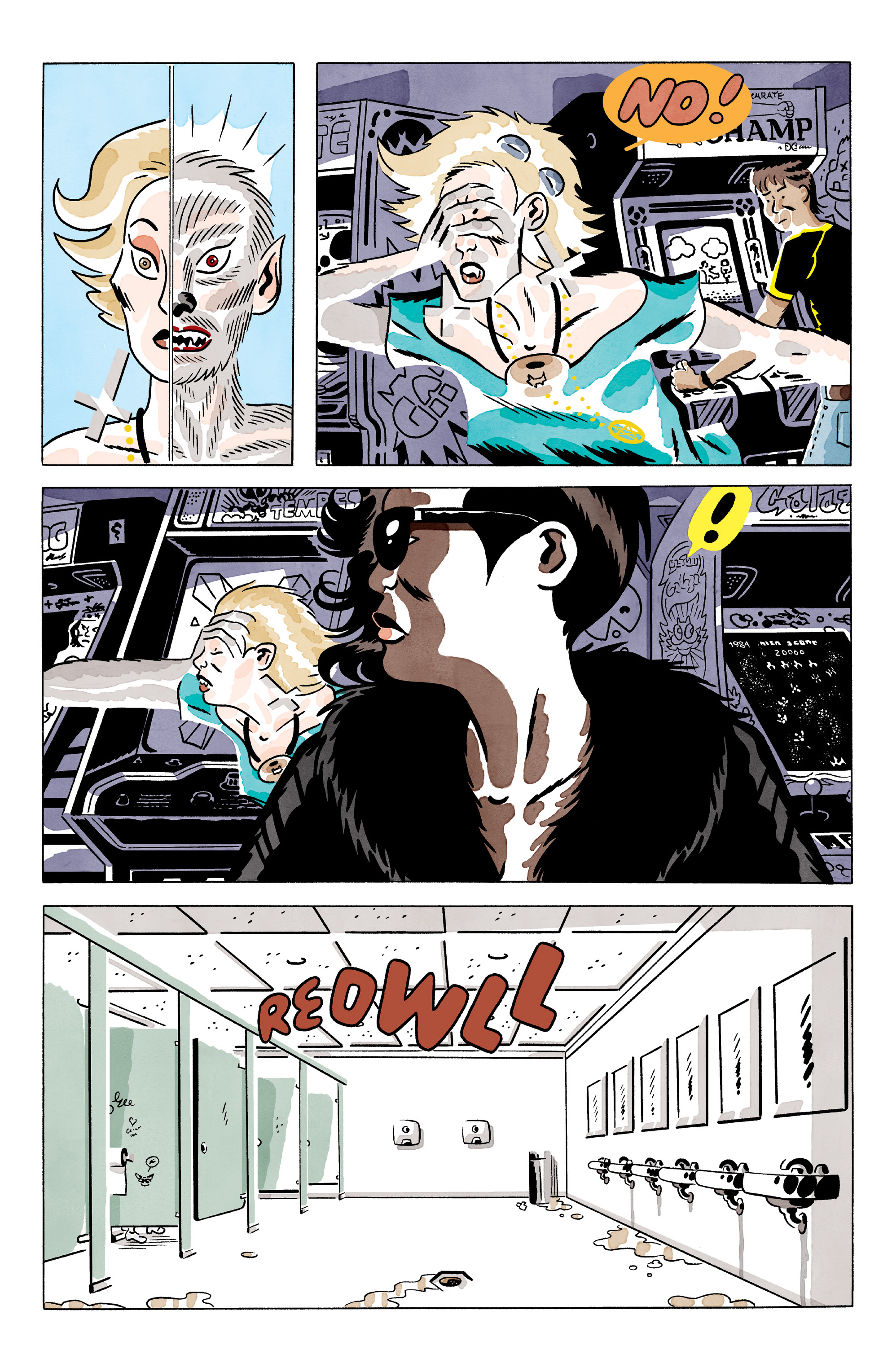 Read online She Wolf comic -  Issue #2 - 4