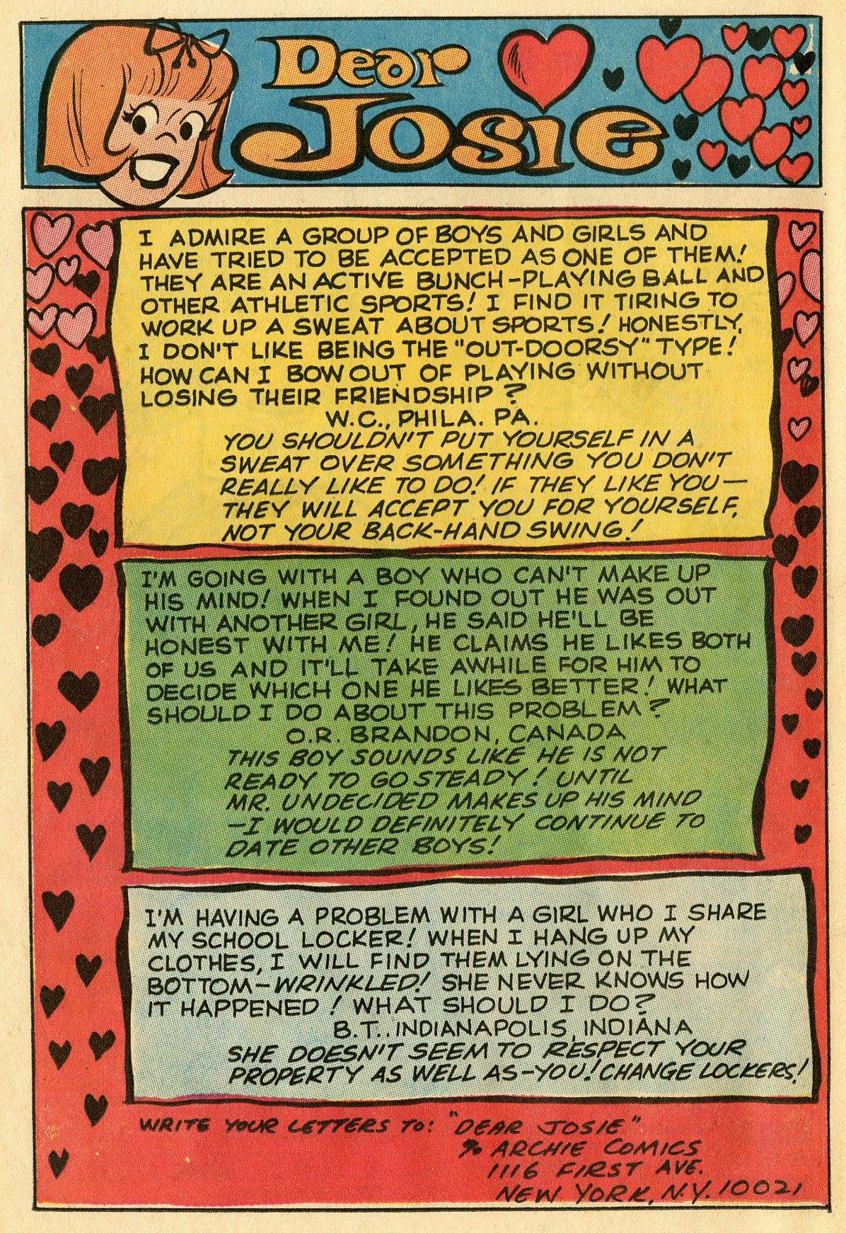 Read online She's Josie comic -  Issue #51 - 25