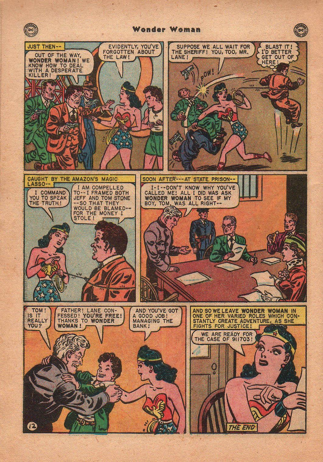 Read online Wonder Woman (1942) comic -  Issue #42 - 49