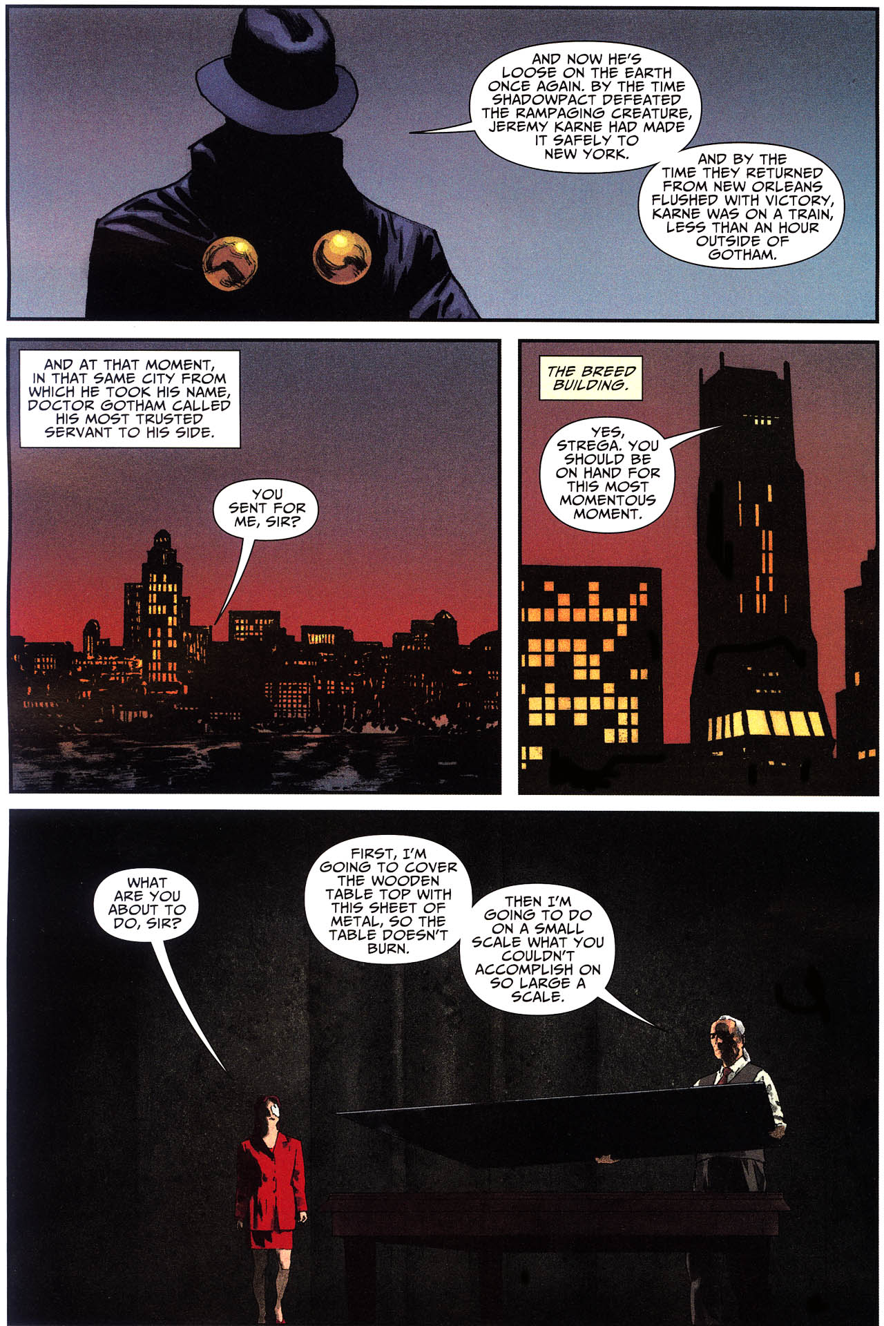 Read online Shadowpact comic -  Issue #13 - 11