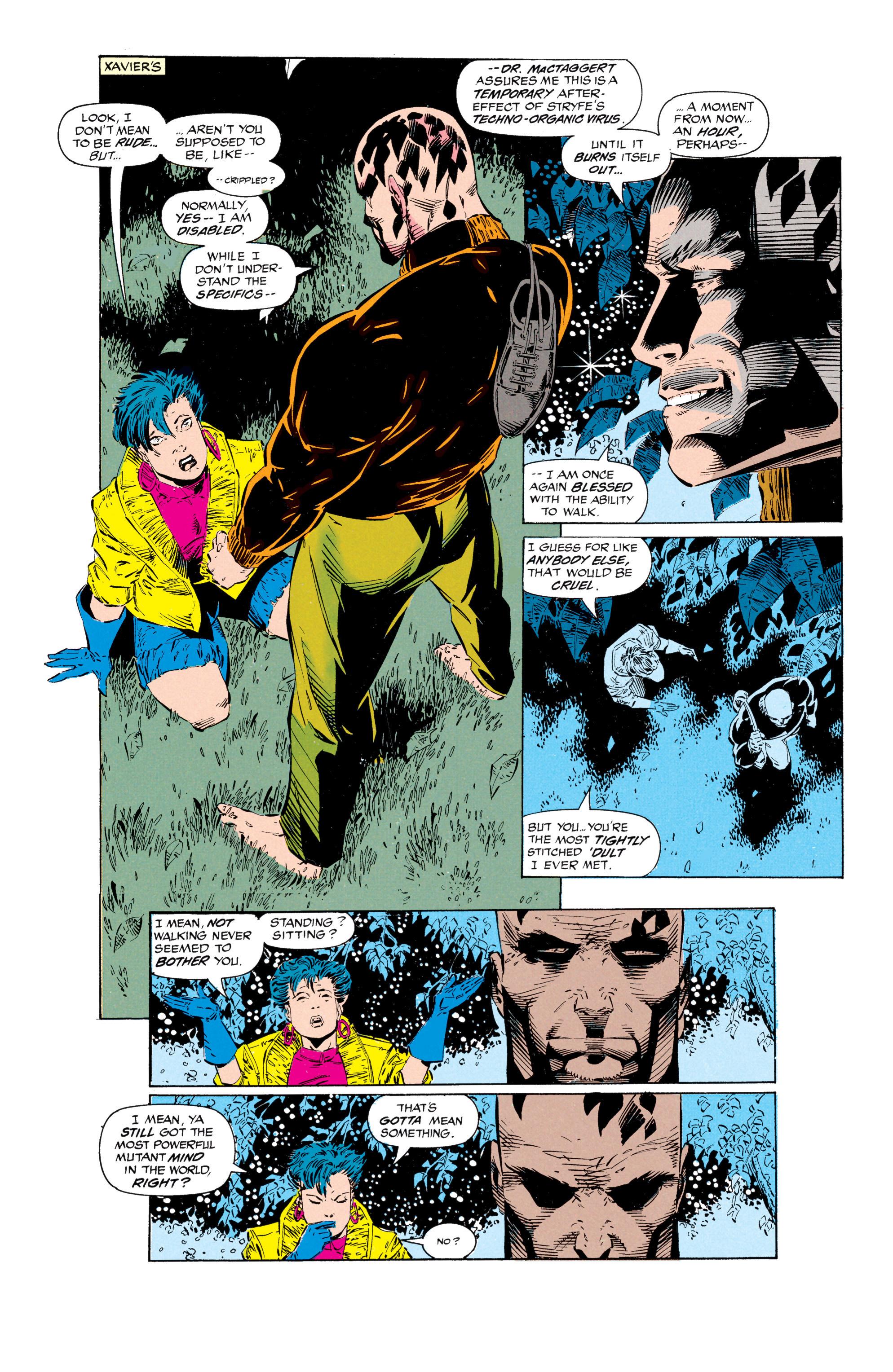 Read online Uncanny X-Men (1963) comic -  Issue #297 - 10