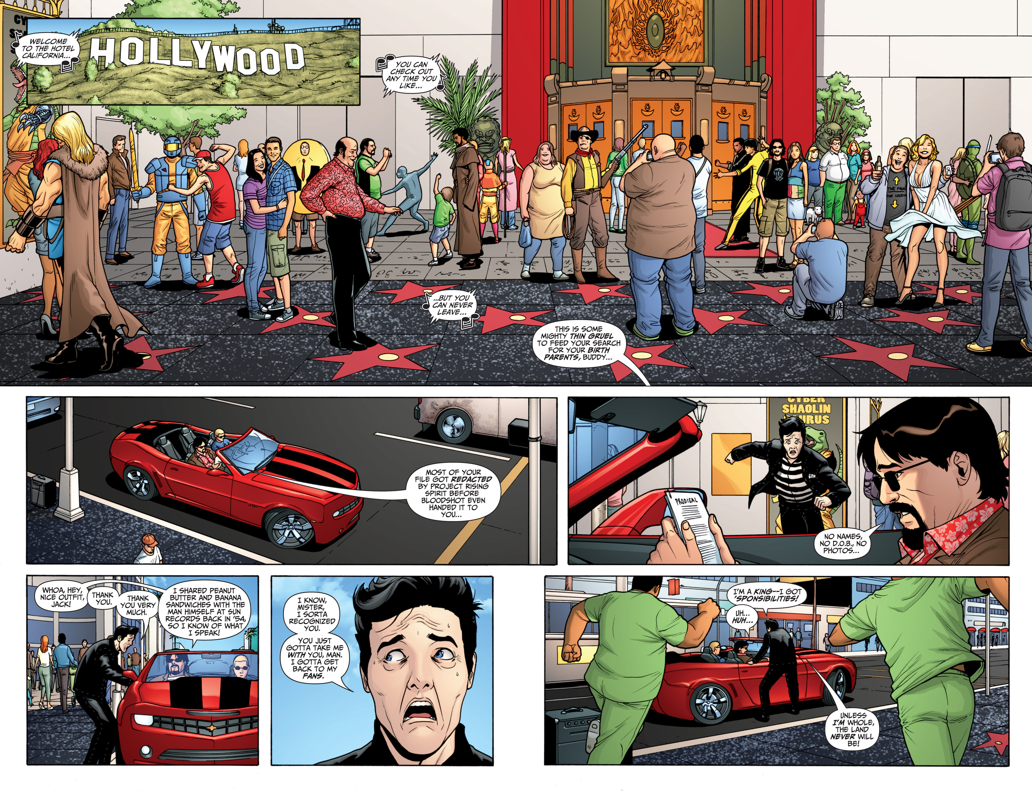 Read online Archer and Armstrong comic -  Issue #Archer and Armstrong _TPB 6 - 8