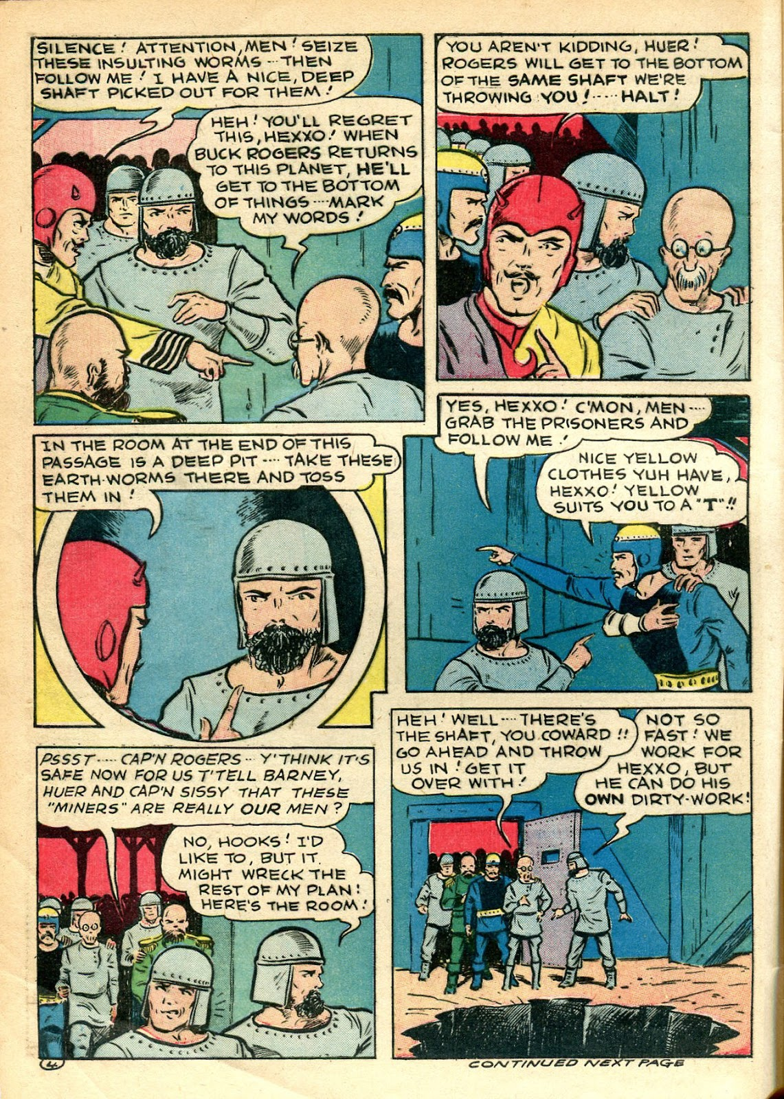 Read online Famous Funnies comic -  Issue #110 - 4