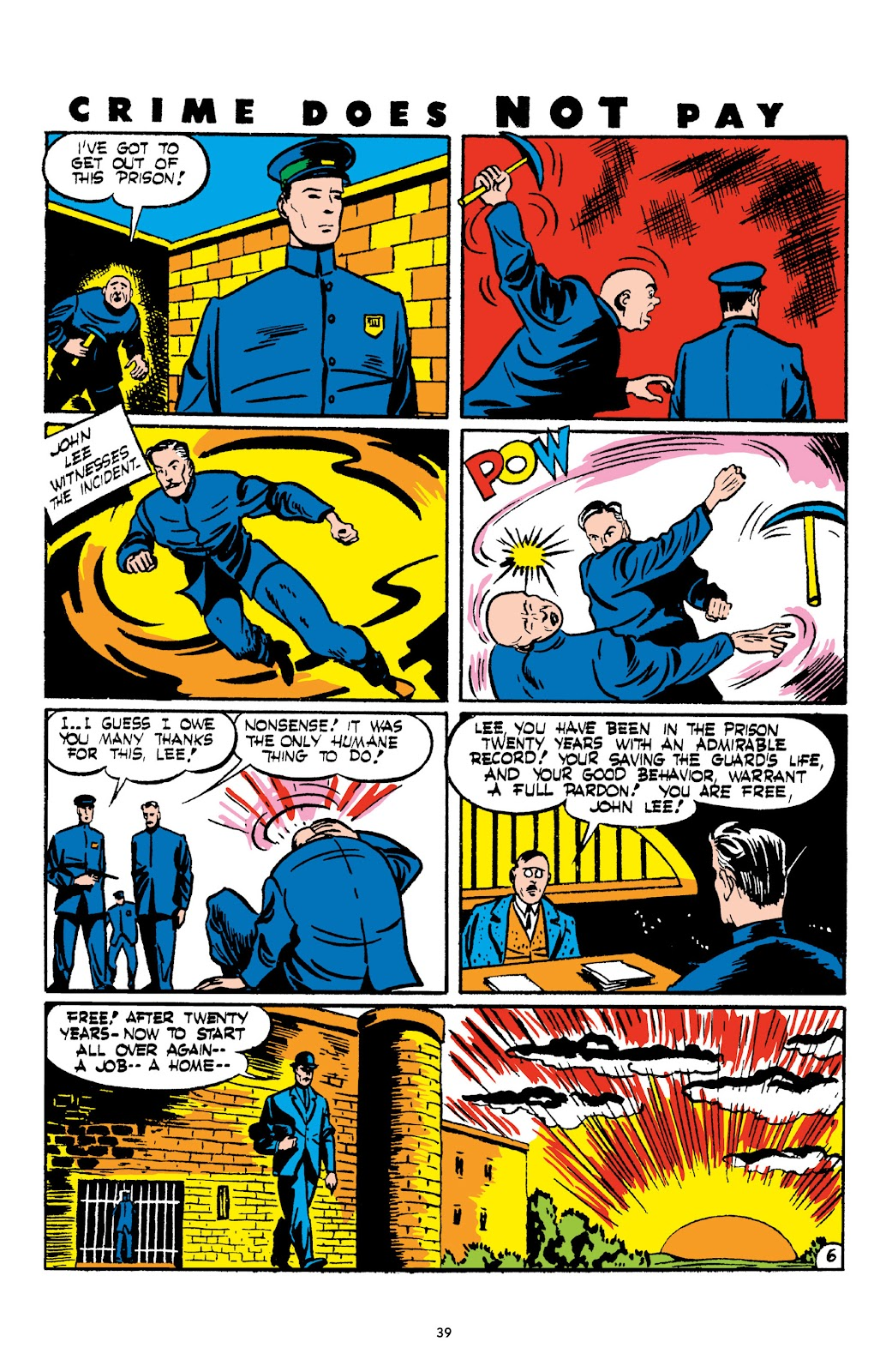 Read online Crime Does Not Pay Archives comic -  Issue # TPB 2 (Part 1) - 39