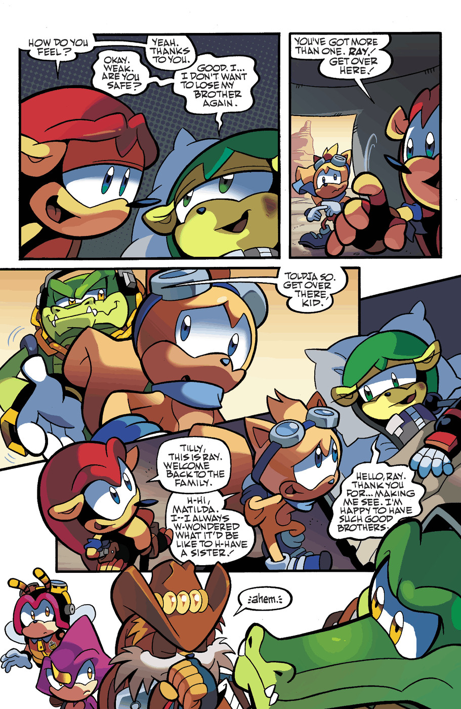 Read online Sonic Universe comic -  Issue #49 - 20