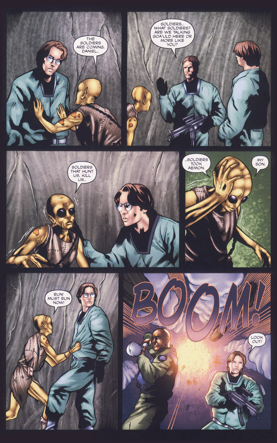 Read online Stargate SG-1: Fall of Rome comic -  Issue #1 - 18
