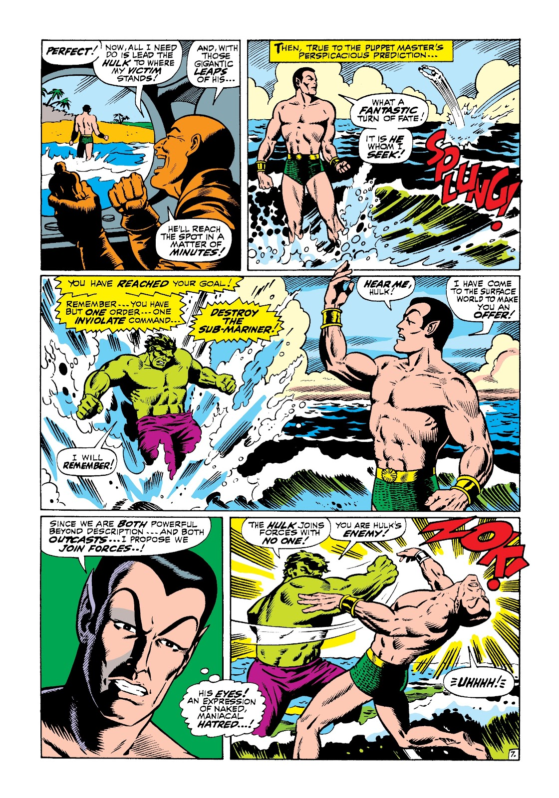 Read online Marvel Masterworks: The Incredible Hulk comic -  Issue # TPB 3 (Part 3) - 35