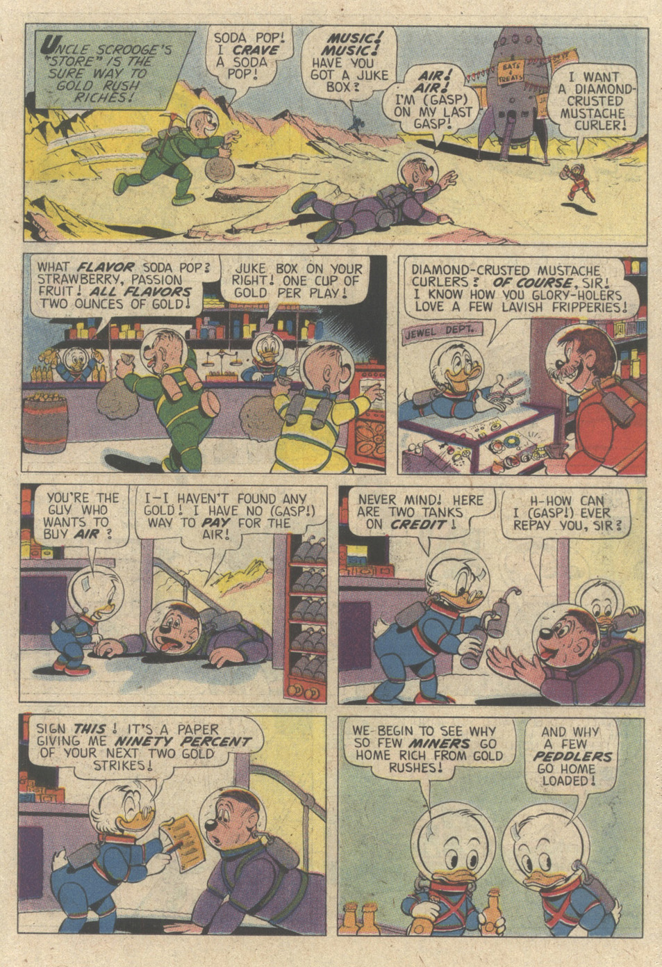 Read online Uncle Scrooge (1953) comic -  Issue #242 - 55