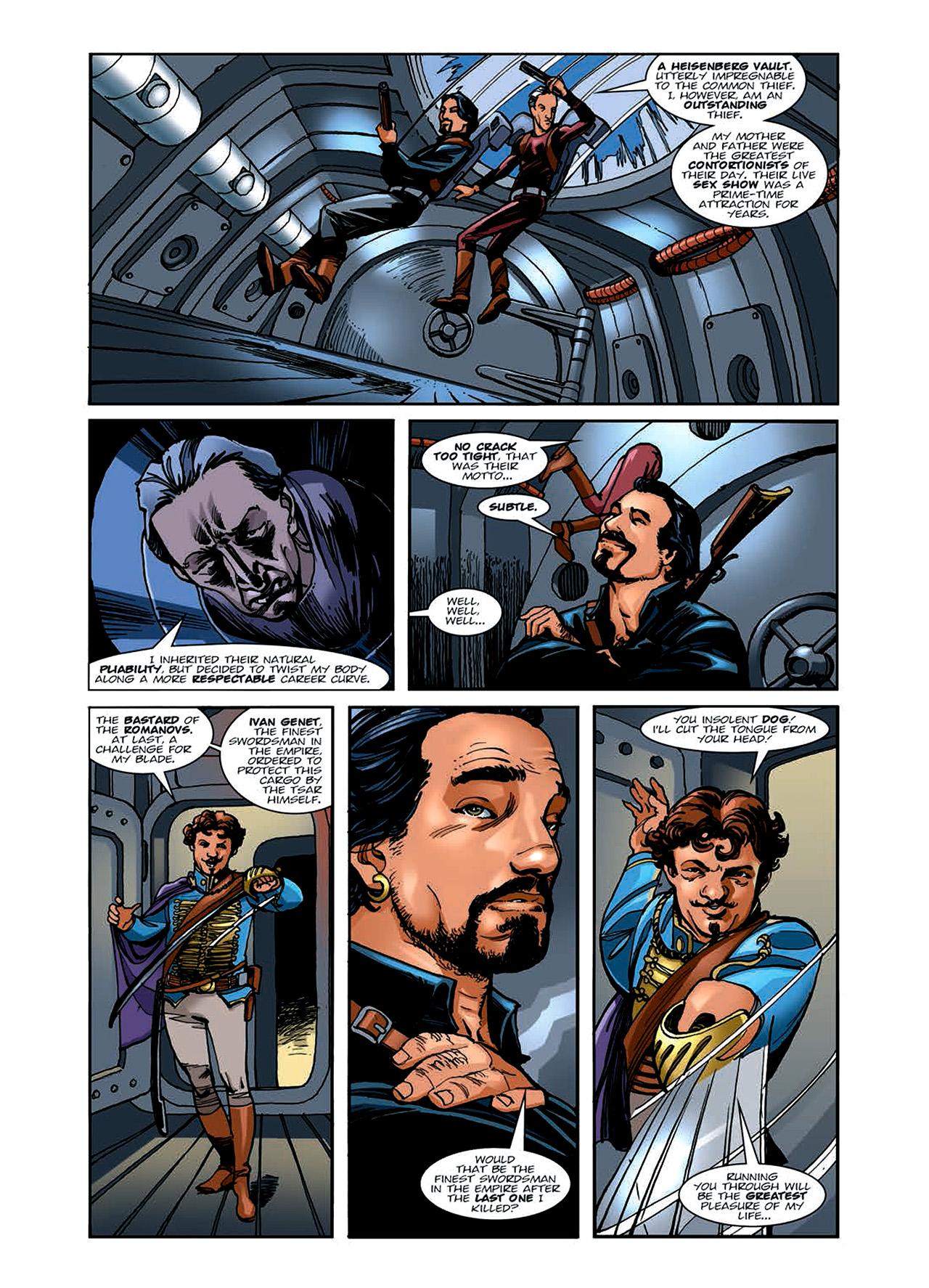 Read online Nikolai Dante comic -  Issue # TPB 6 - 52