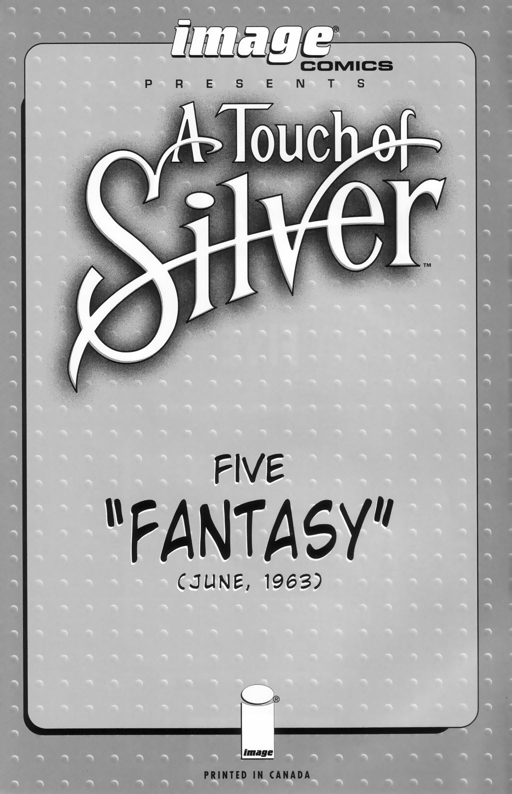 Read online A Touch of Silver comic -  Issue #5 - 2