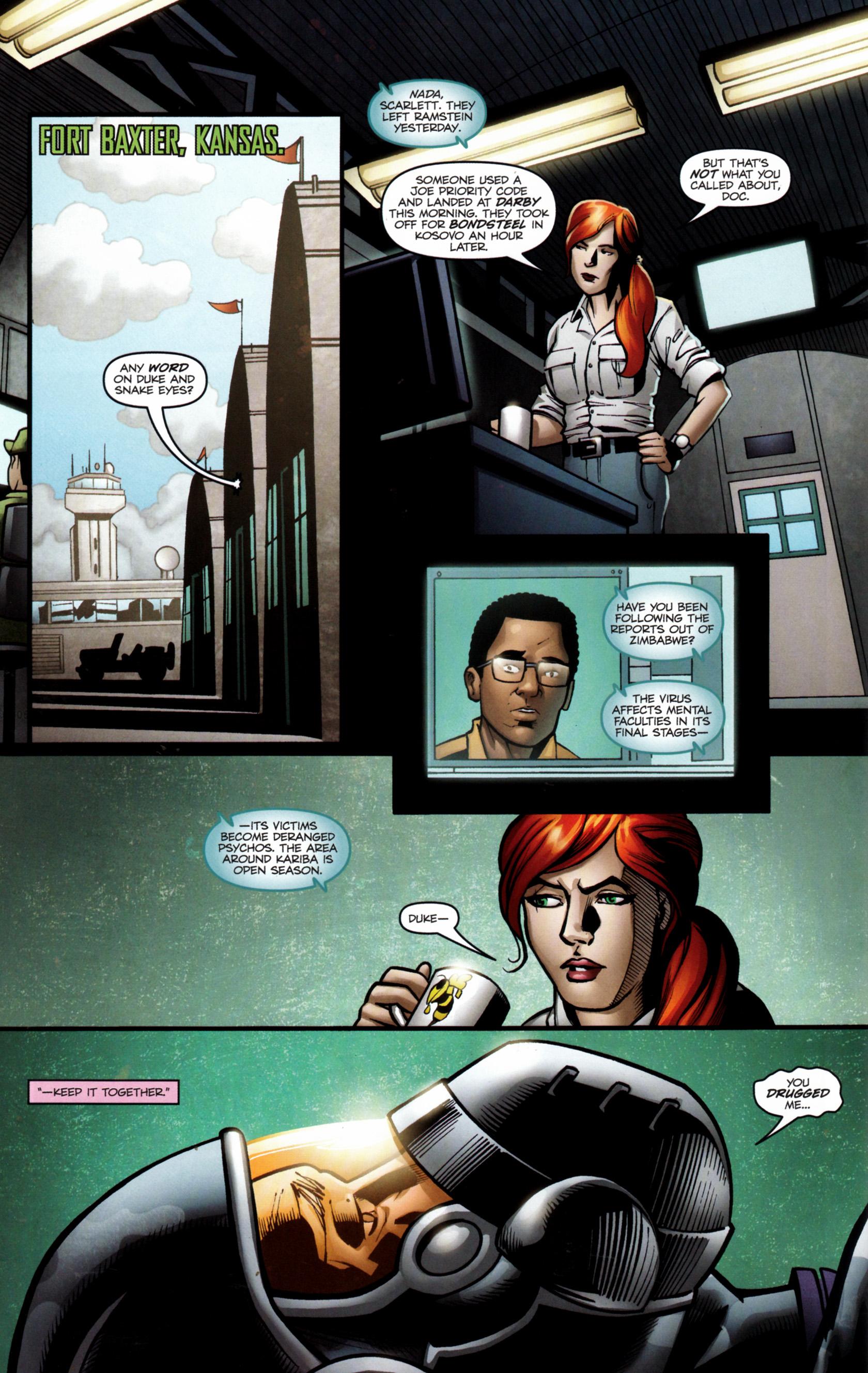 Read online G.I. Joe: Snake Eyes comic -  Issue #6 - 23