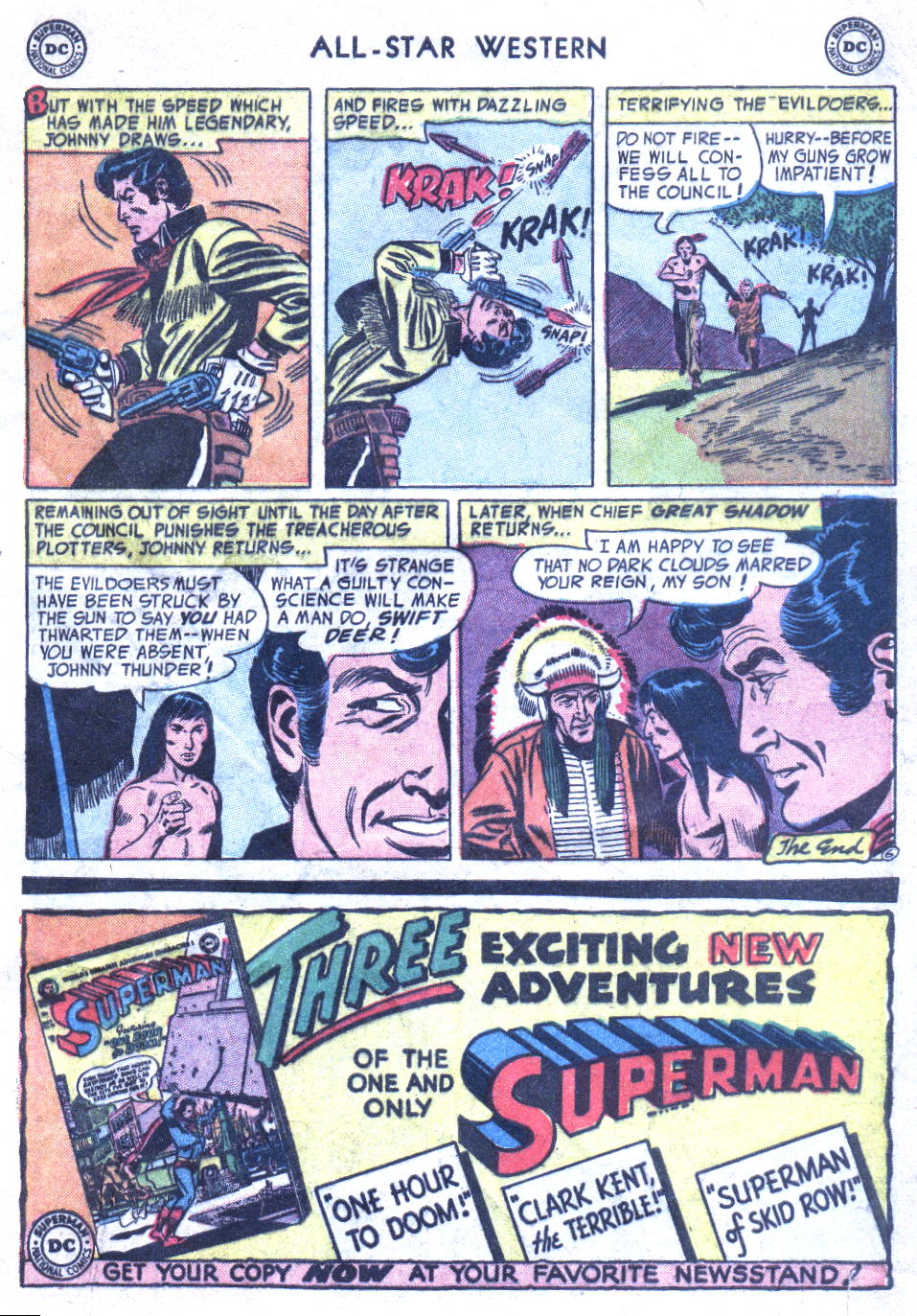 Read online All-Star Western (1951) comic -  Issue #77 - 33