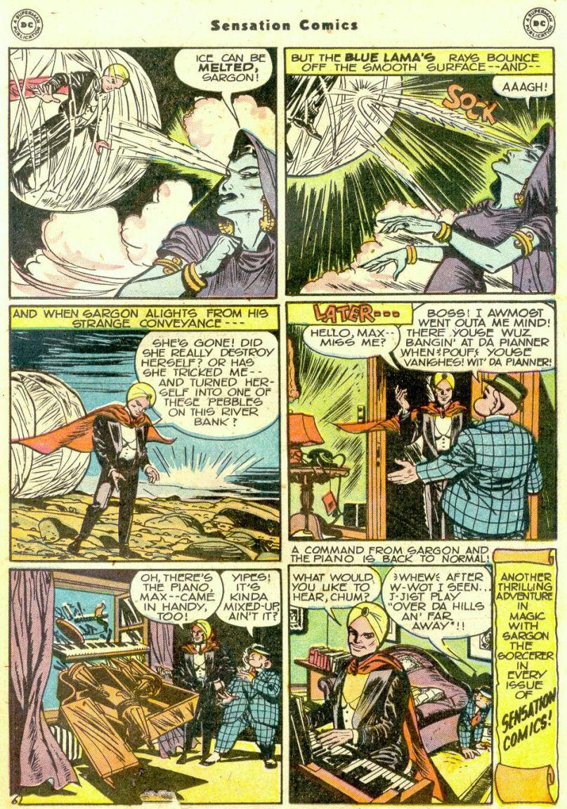 Read online Sensation (Mystery) Comics comic -  Issue #74 - 29