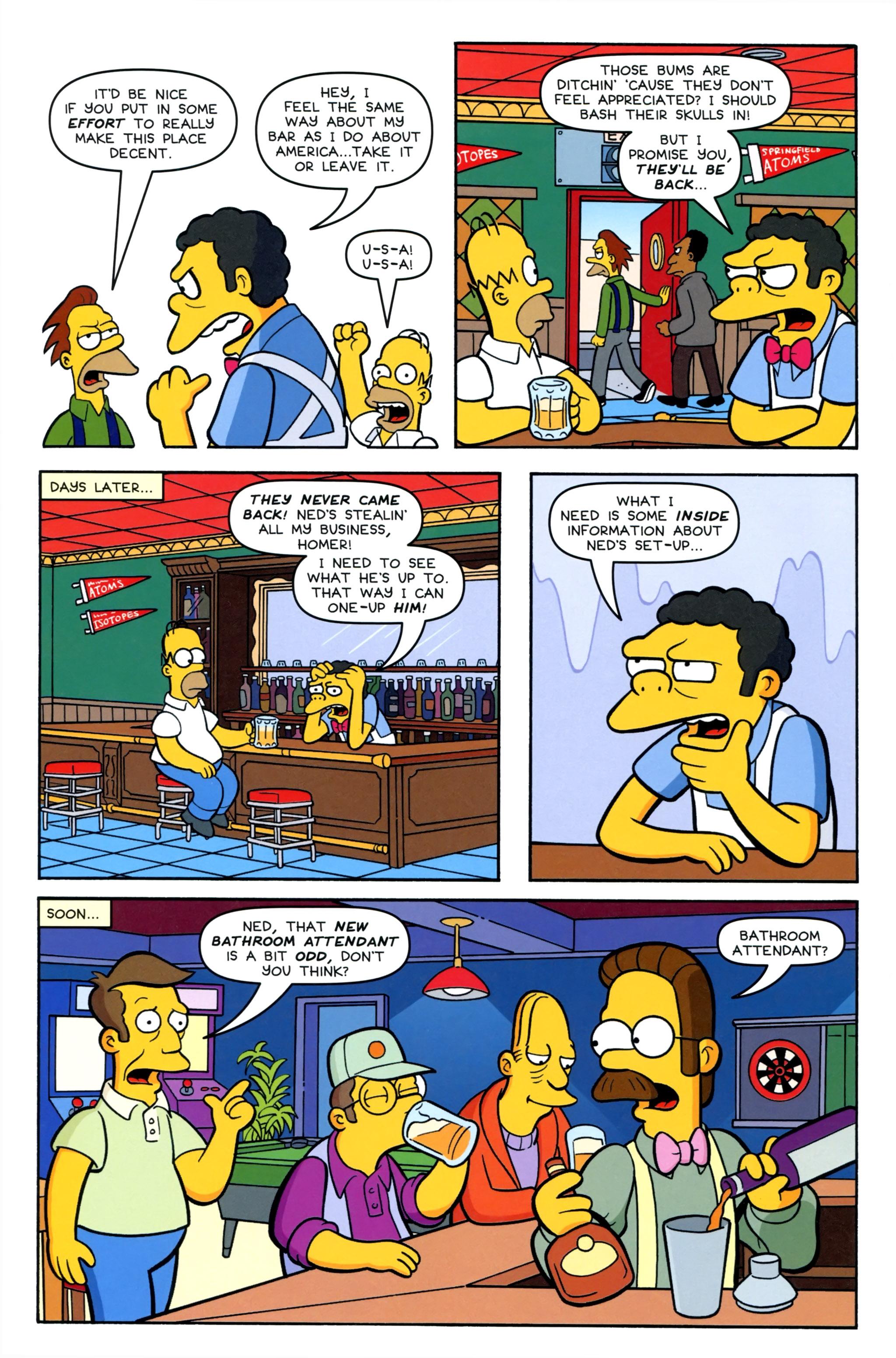 Read online Simpsons Comics comic -  Issue #220 - 10