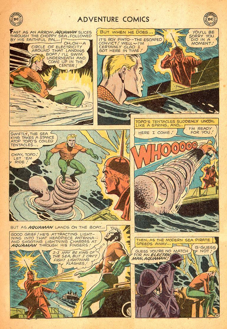 Read online Adventure Comics (1938) comic -  Issue #254 - 21