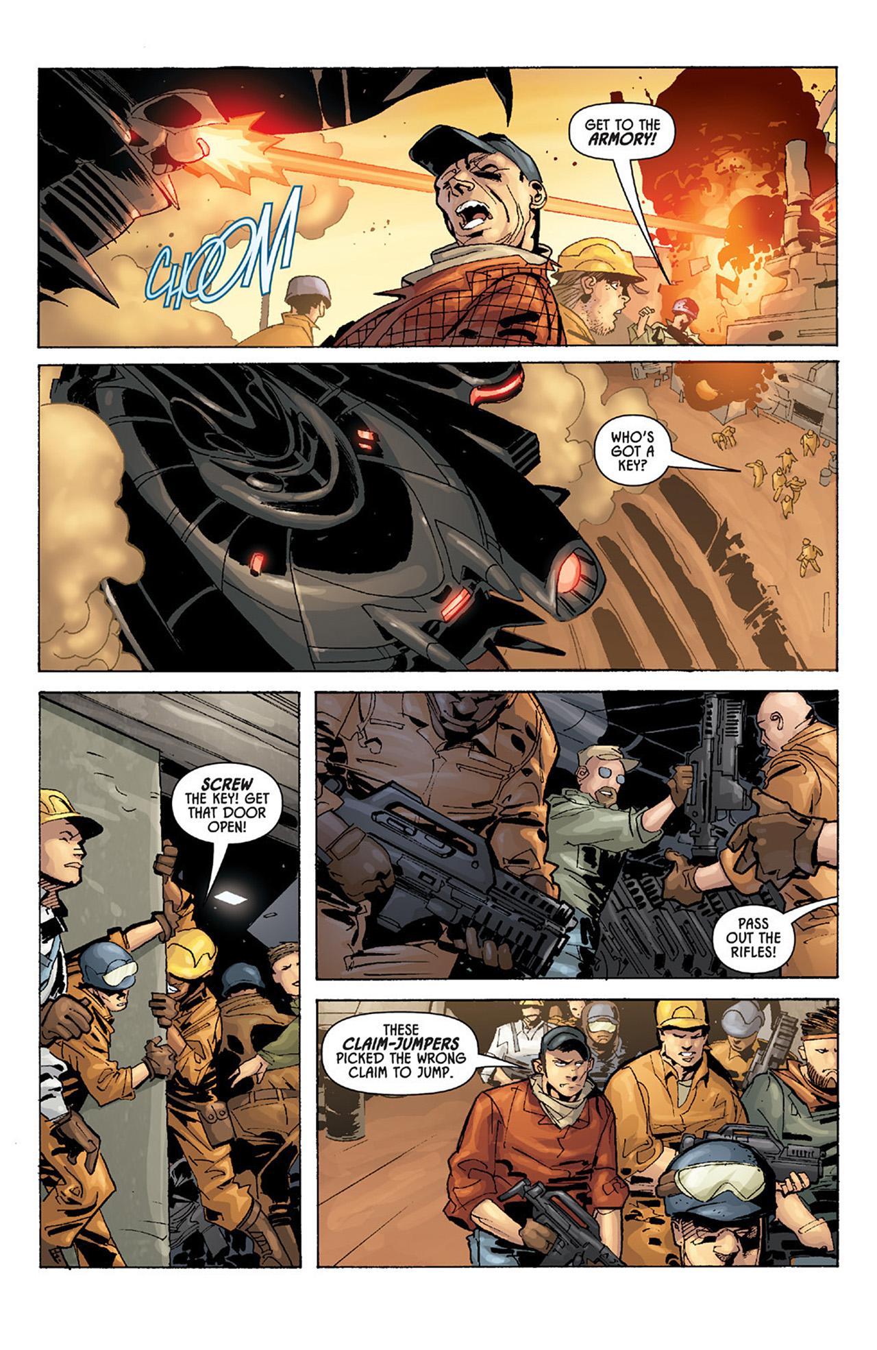 Read online Aliens vs. Predator: Three World War comic -  Issue #1 - 6