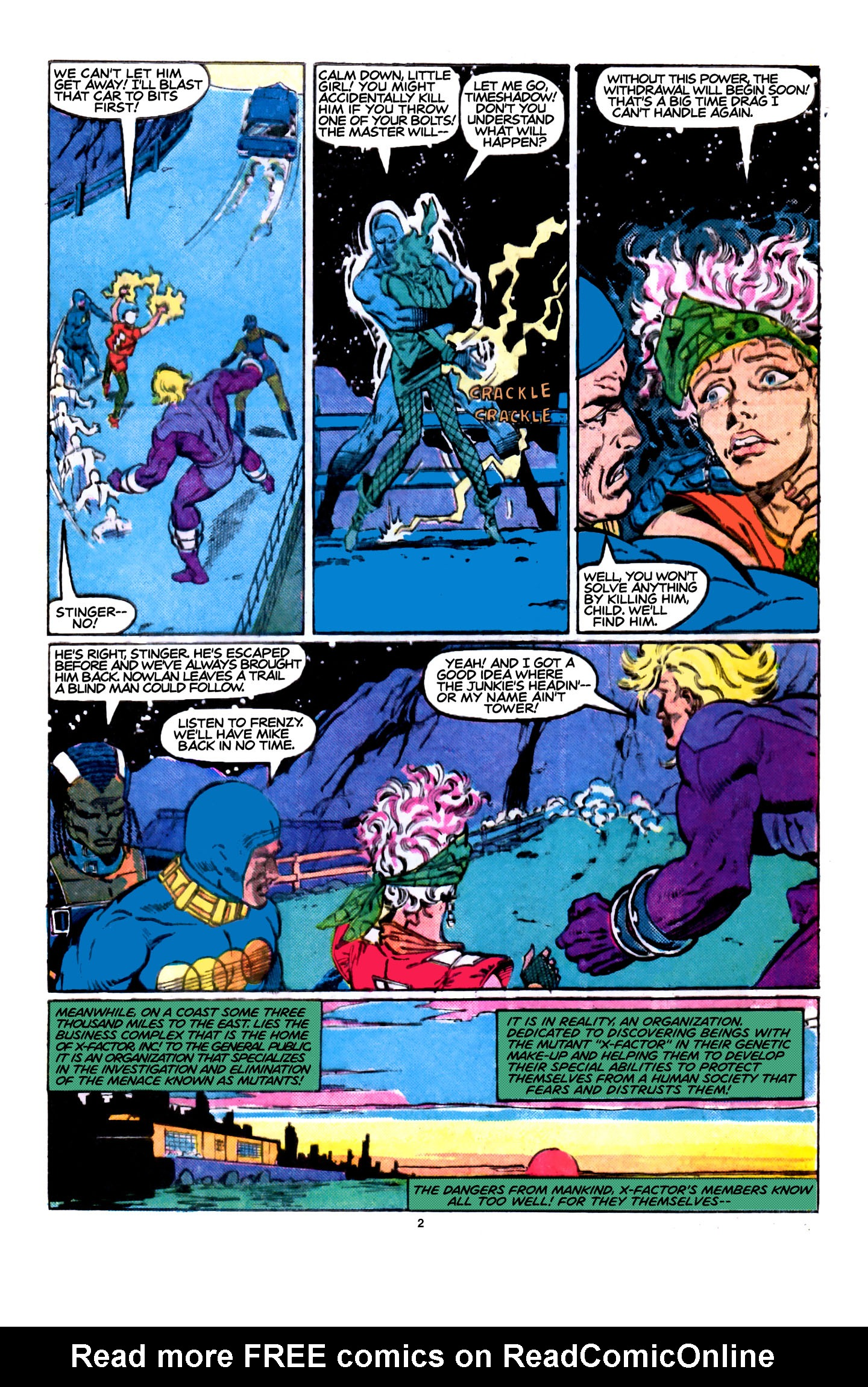 Read online X-Factor (1986) comic -  Issue #5 - 3