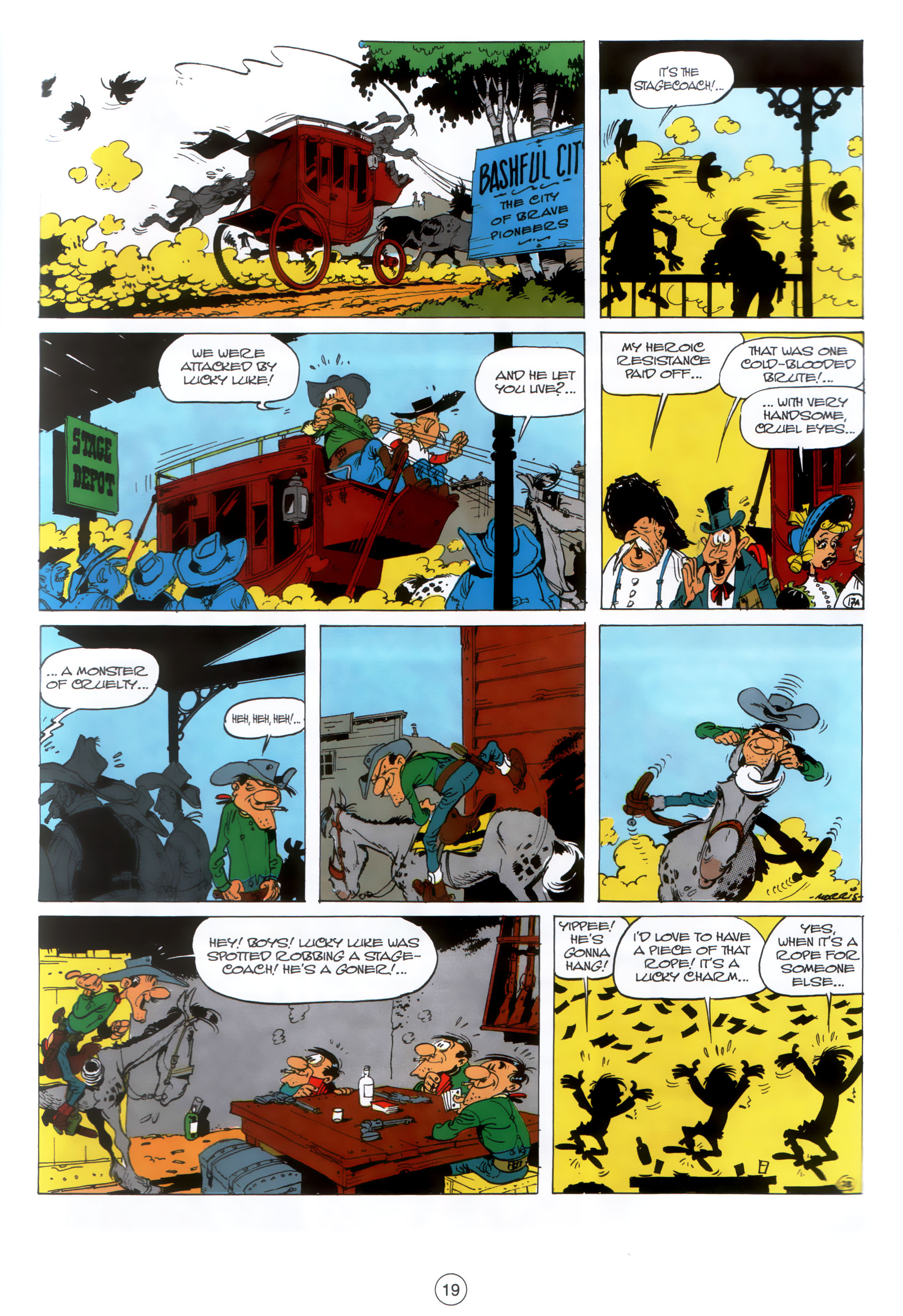 Read online A Lucky Luke Adventure comic -  Issue #30 - 18