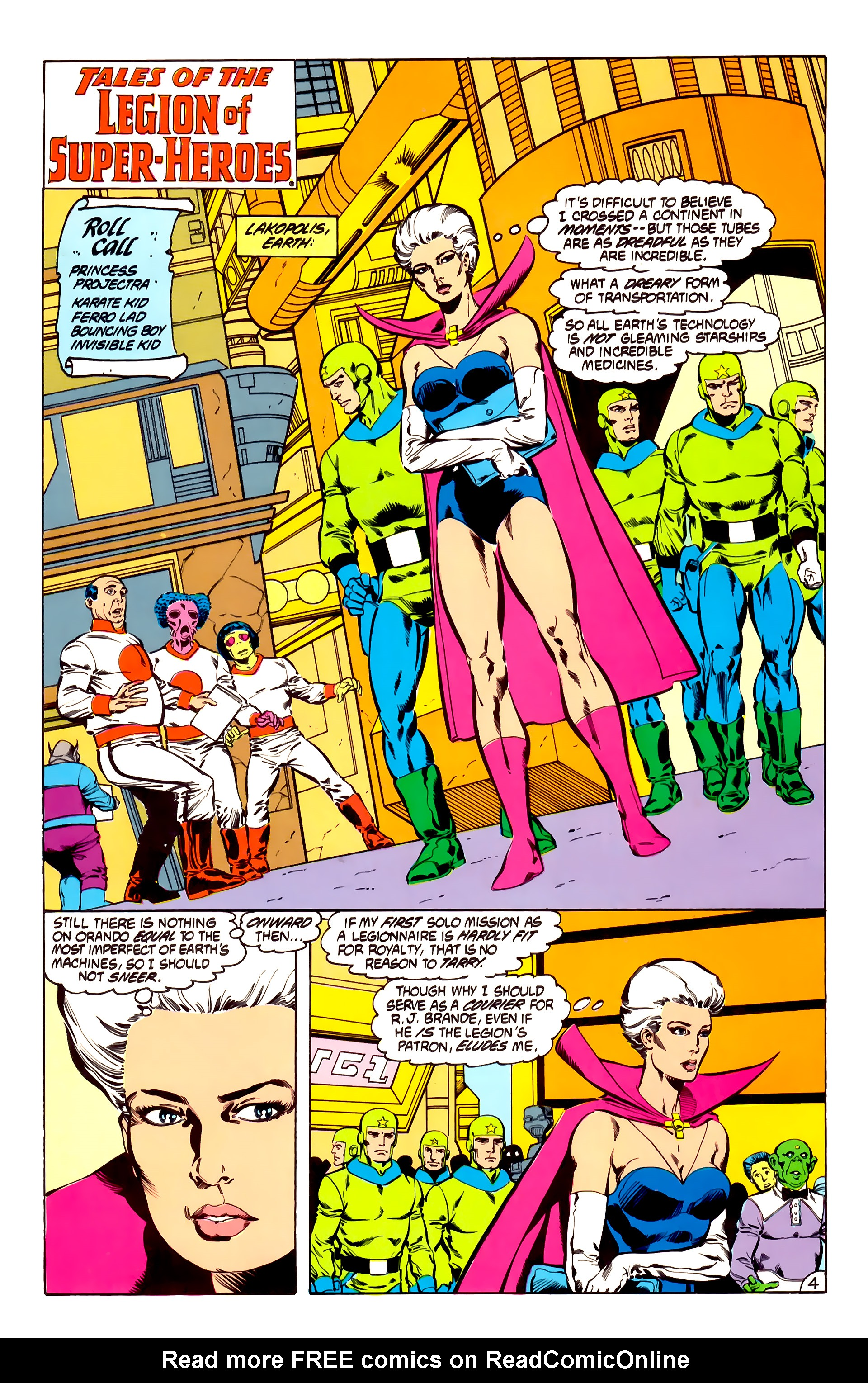 Legion of Super-Heroes (1984) 31 Page 4