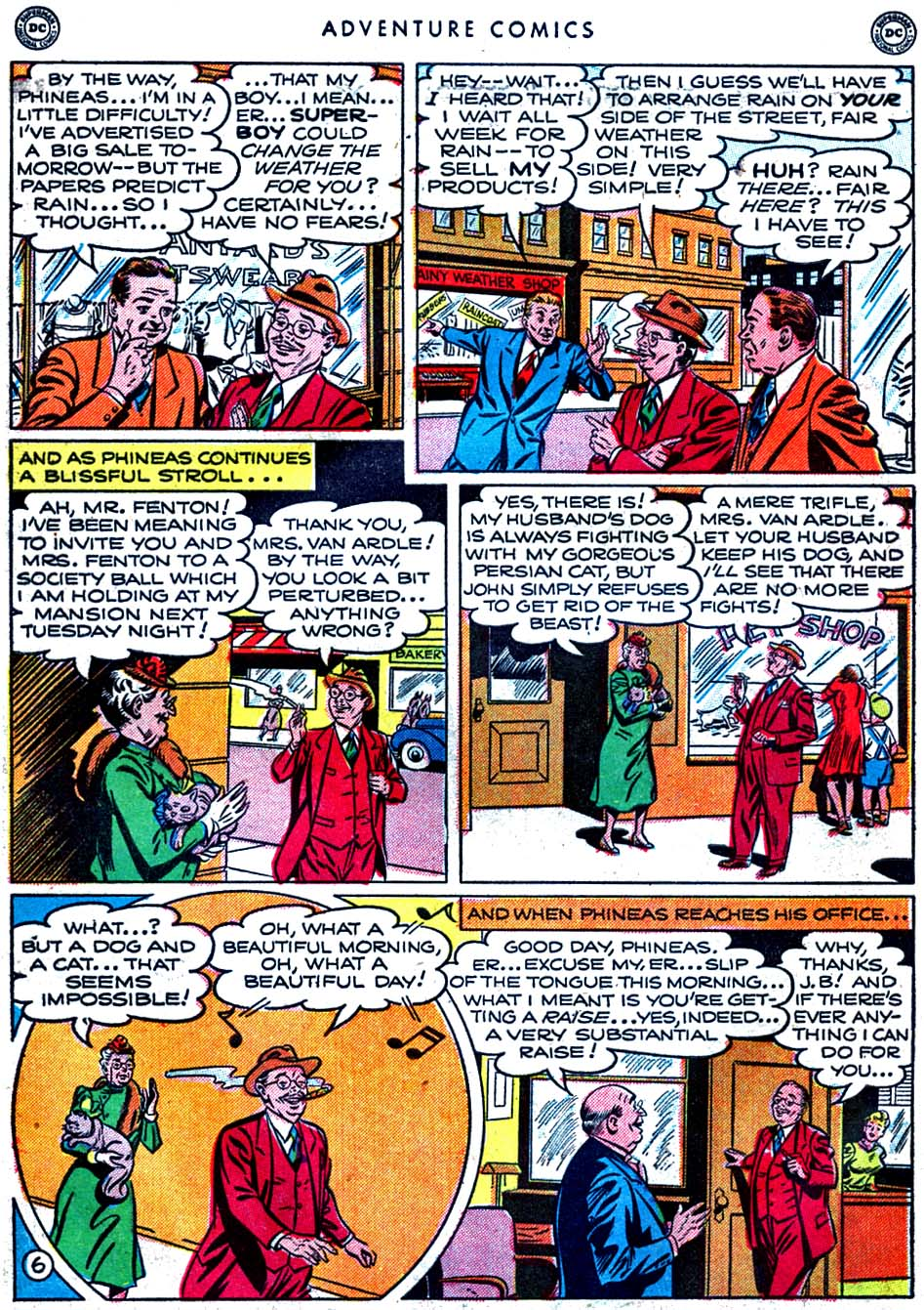 Read online Adventure Comics (1938) comic -  Issue #163 - 8