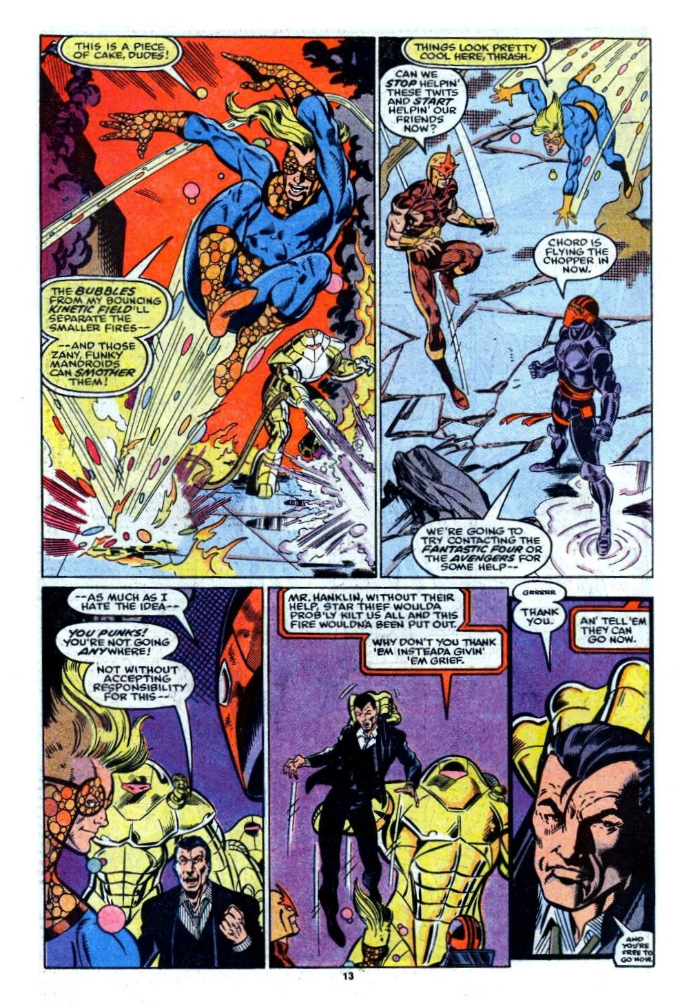 The New Warriors Issue #6 #10 - English 10