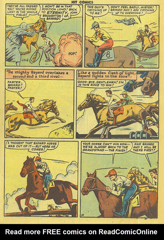Read online Hit Comics comic -  Issue #56 - 13