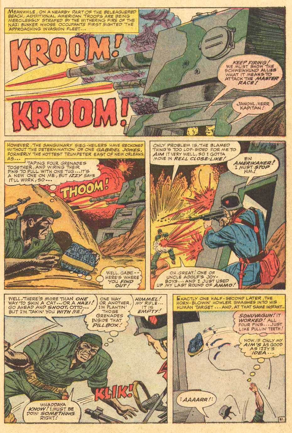 Read online Sgt. Fury comic -  Issue # _Special 2 - 23