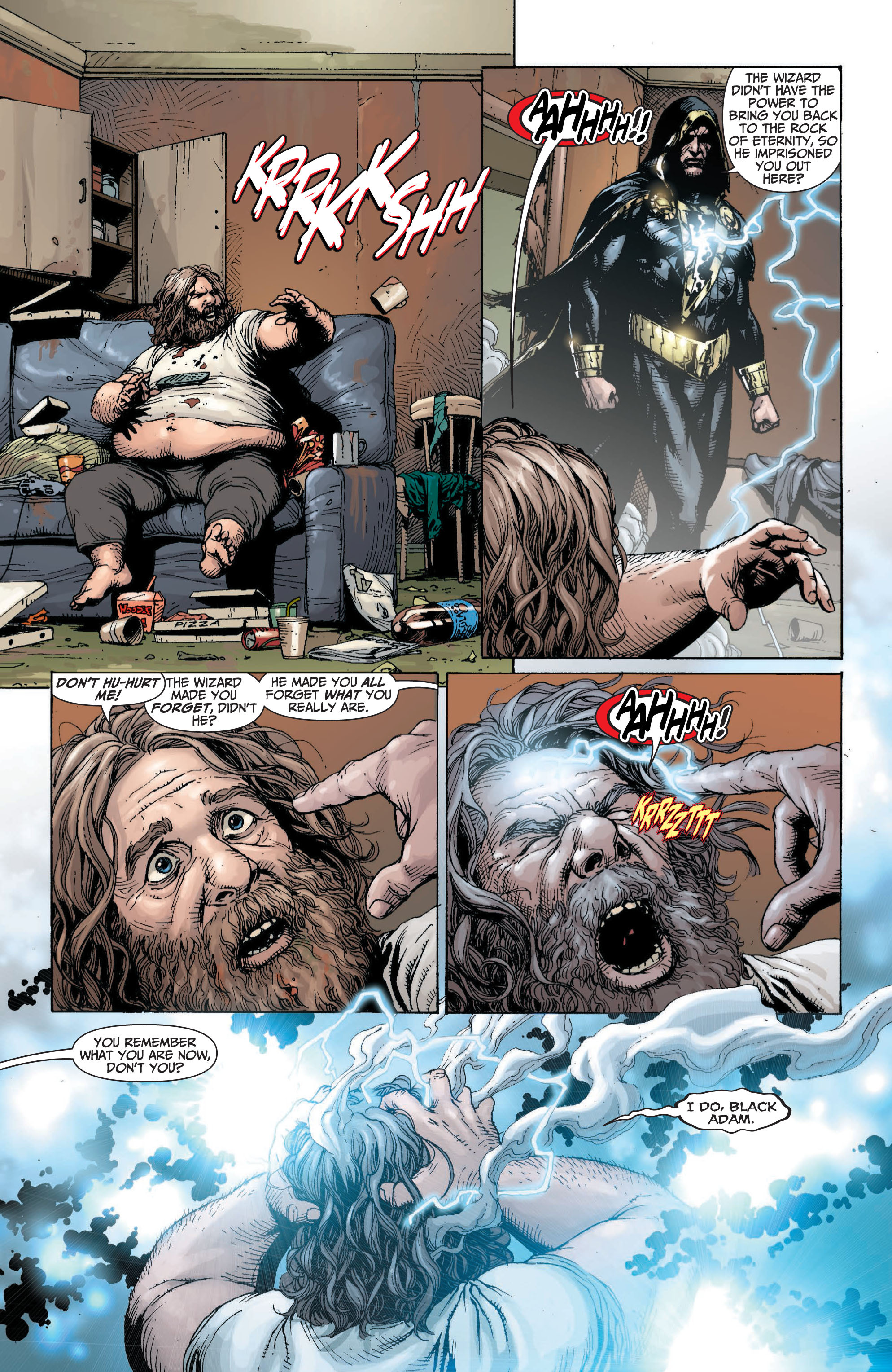 Read online Shazam! (2013) comic -  Issue #1 - 100