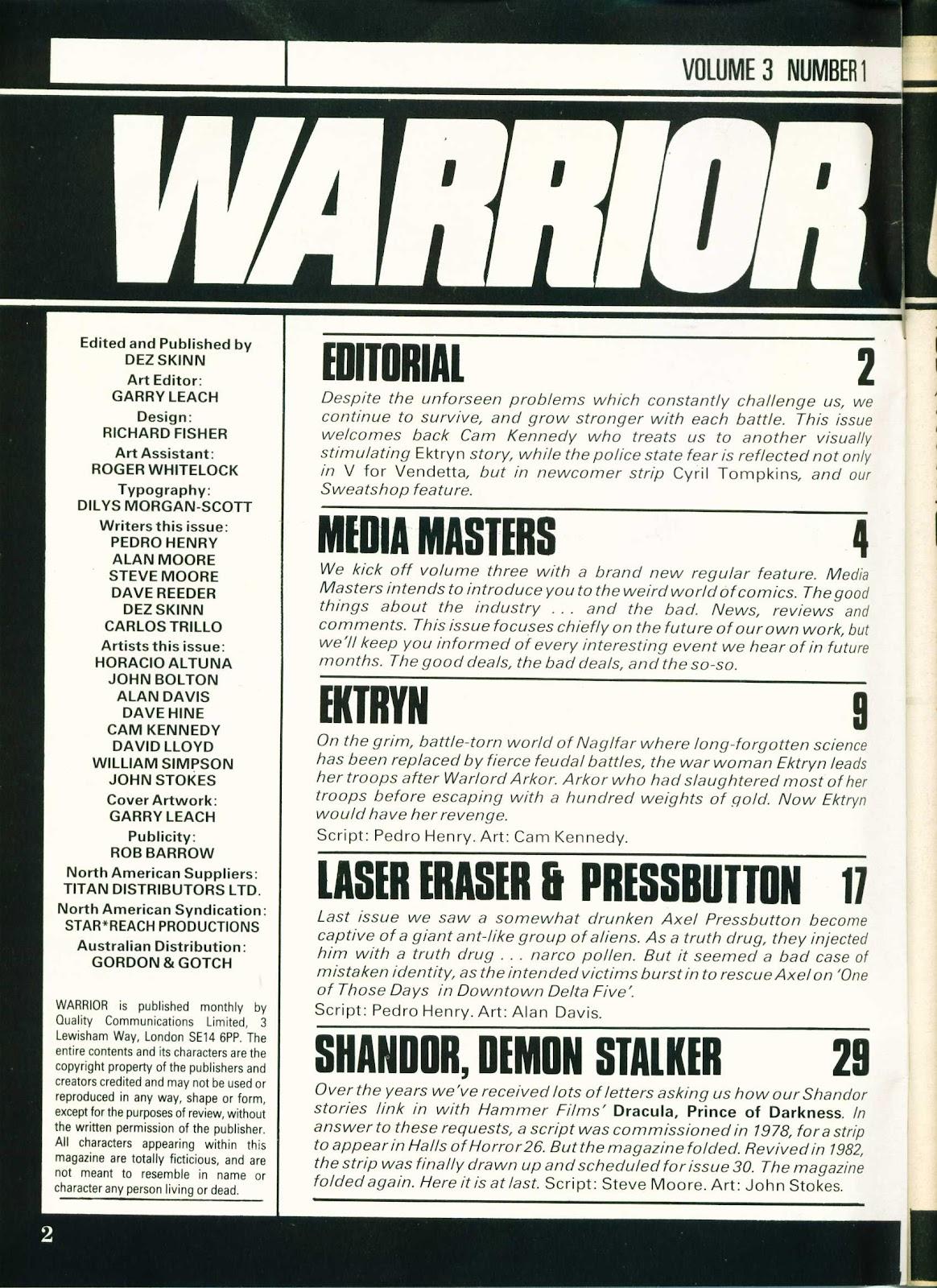 Warrior Issue #25 #26 - English 2